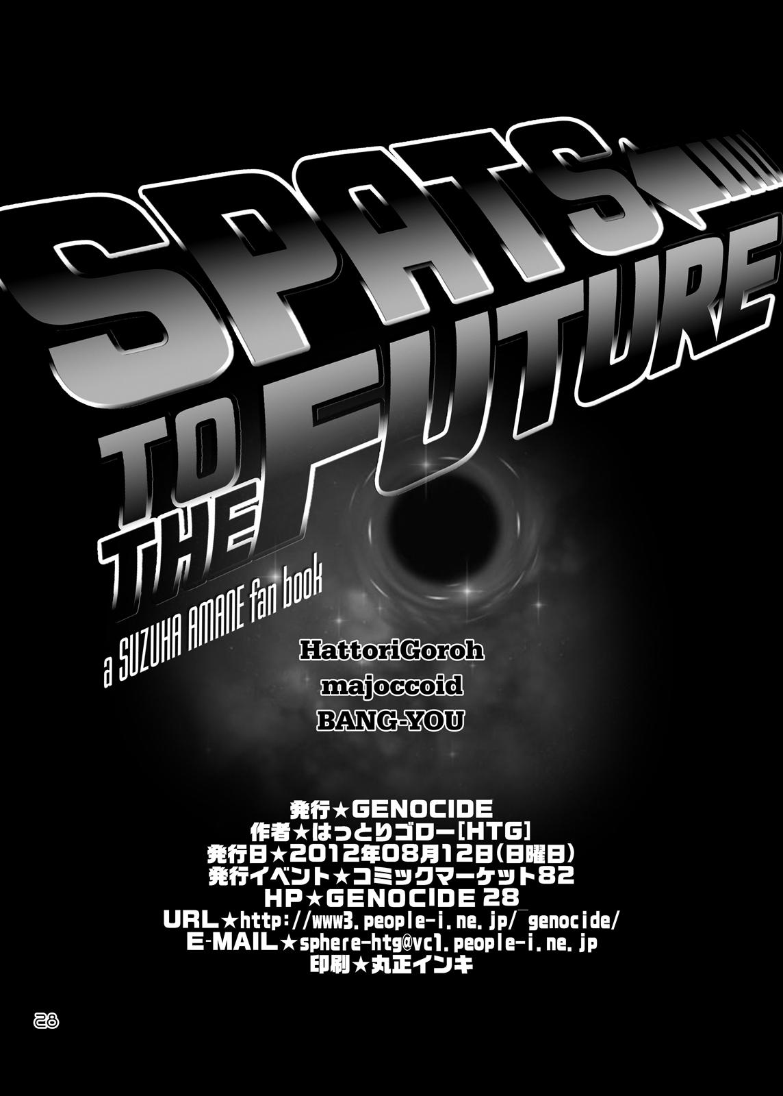 SPATS TO THE FUTURE 26