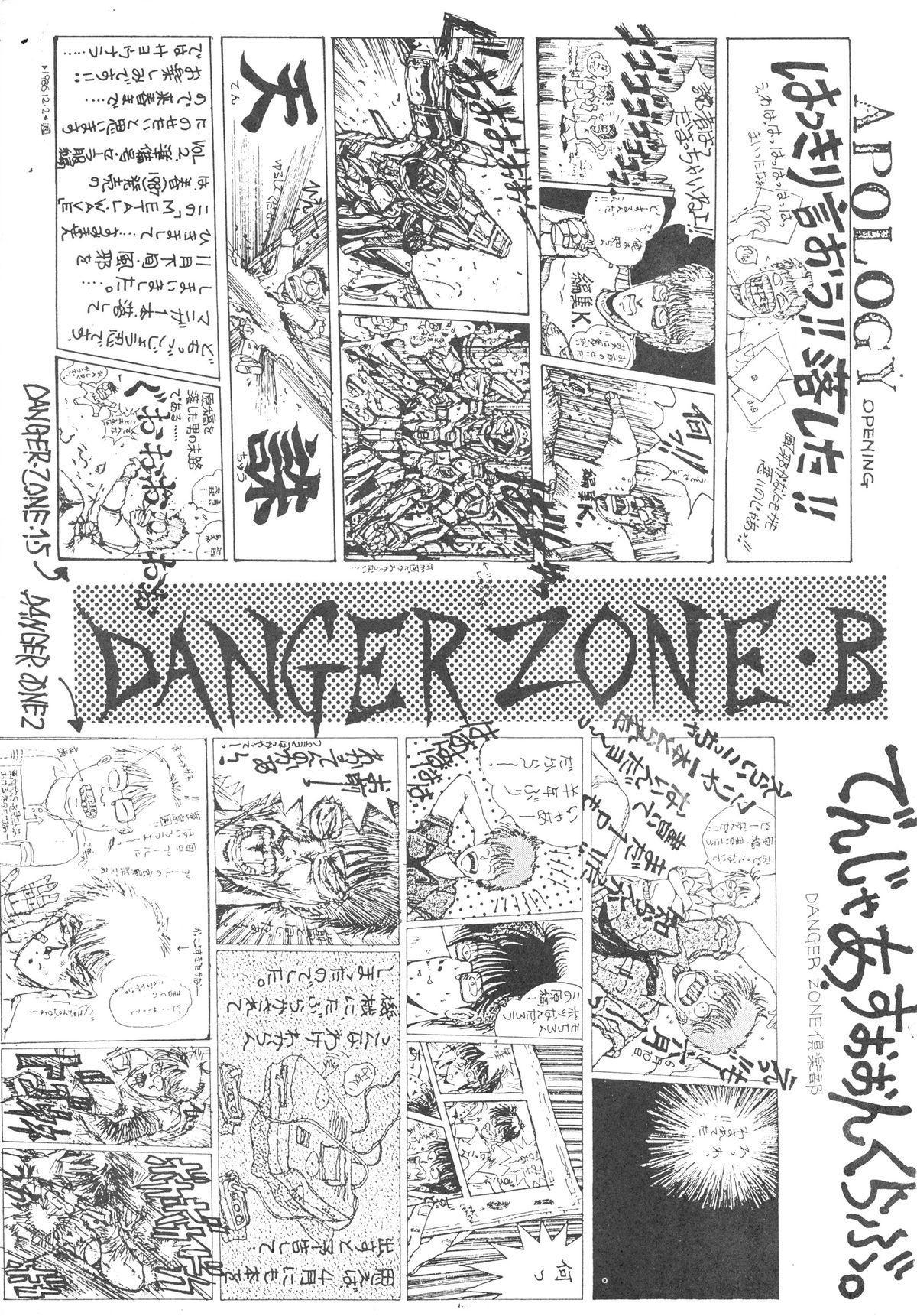 DANGER ZONE SIDE B Kairyouban 1