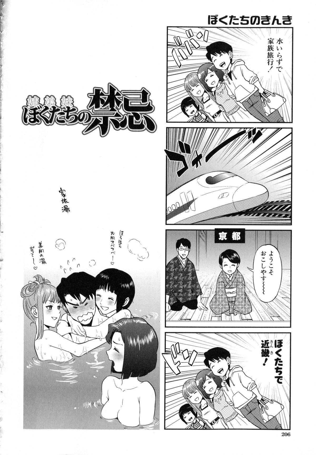 Boku-tachi no Kinki 210