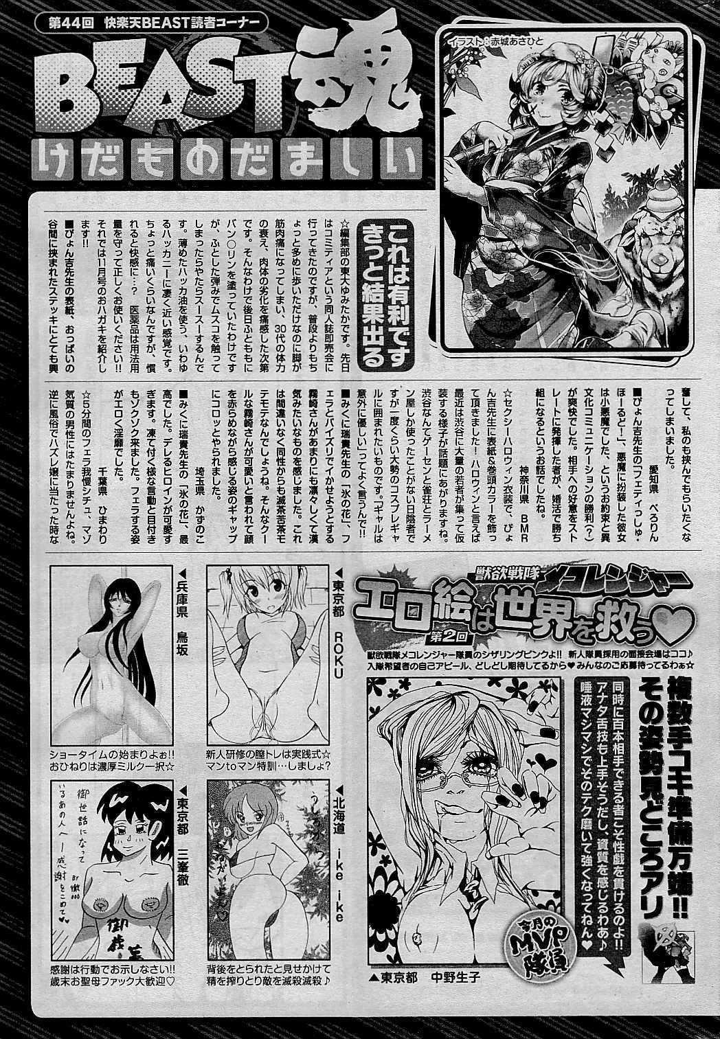 COMIC Kairakuten BEAST 2015-01 288
