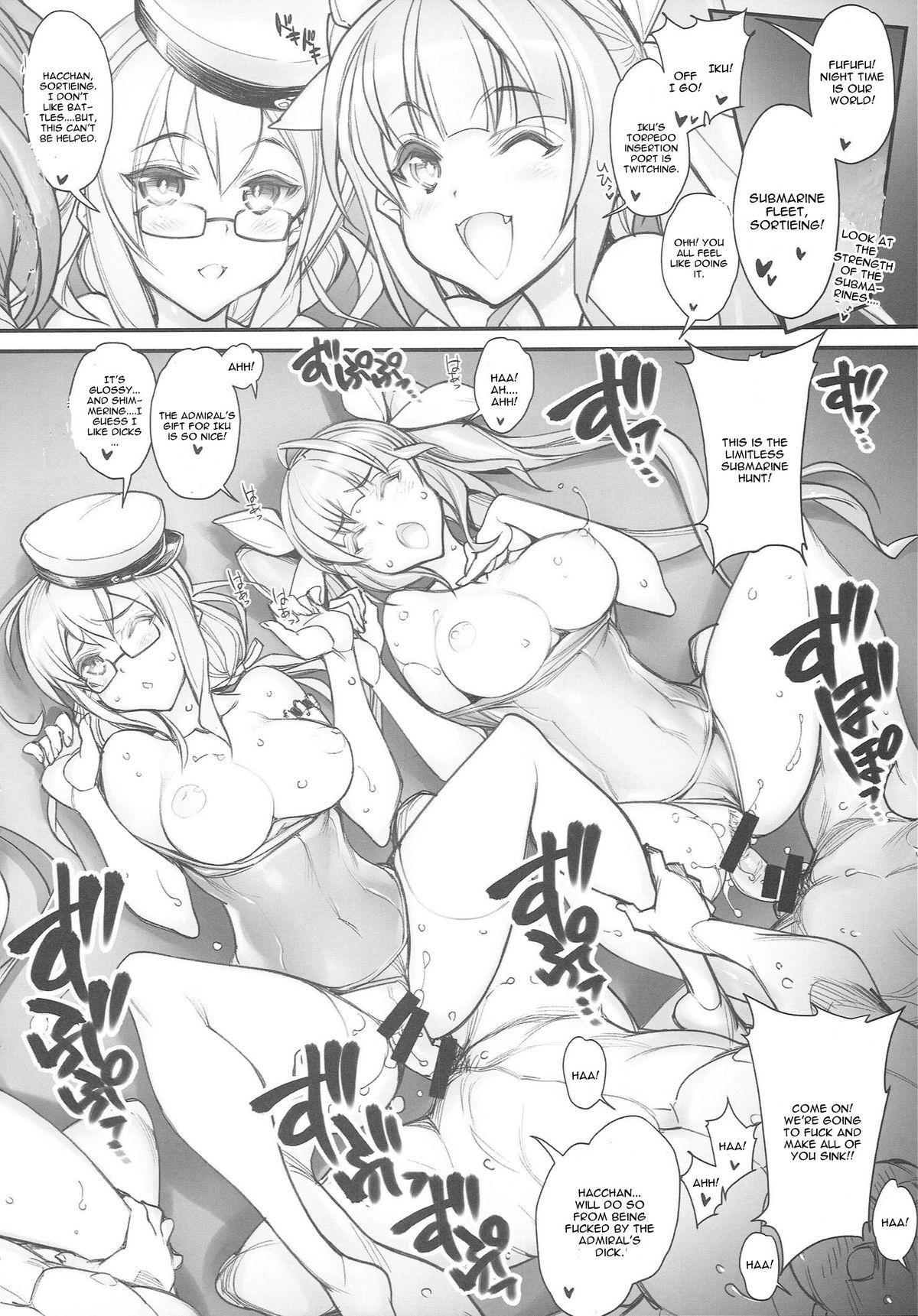 (CT25) [Kashiwa-ya (Hiyo Hiyo)] KanColle -SEX FLEET COLLECTION- Kan-musu Catalog (Kantai Collection -KanColle-) [English] [CGRascal] 46