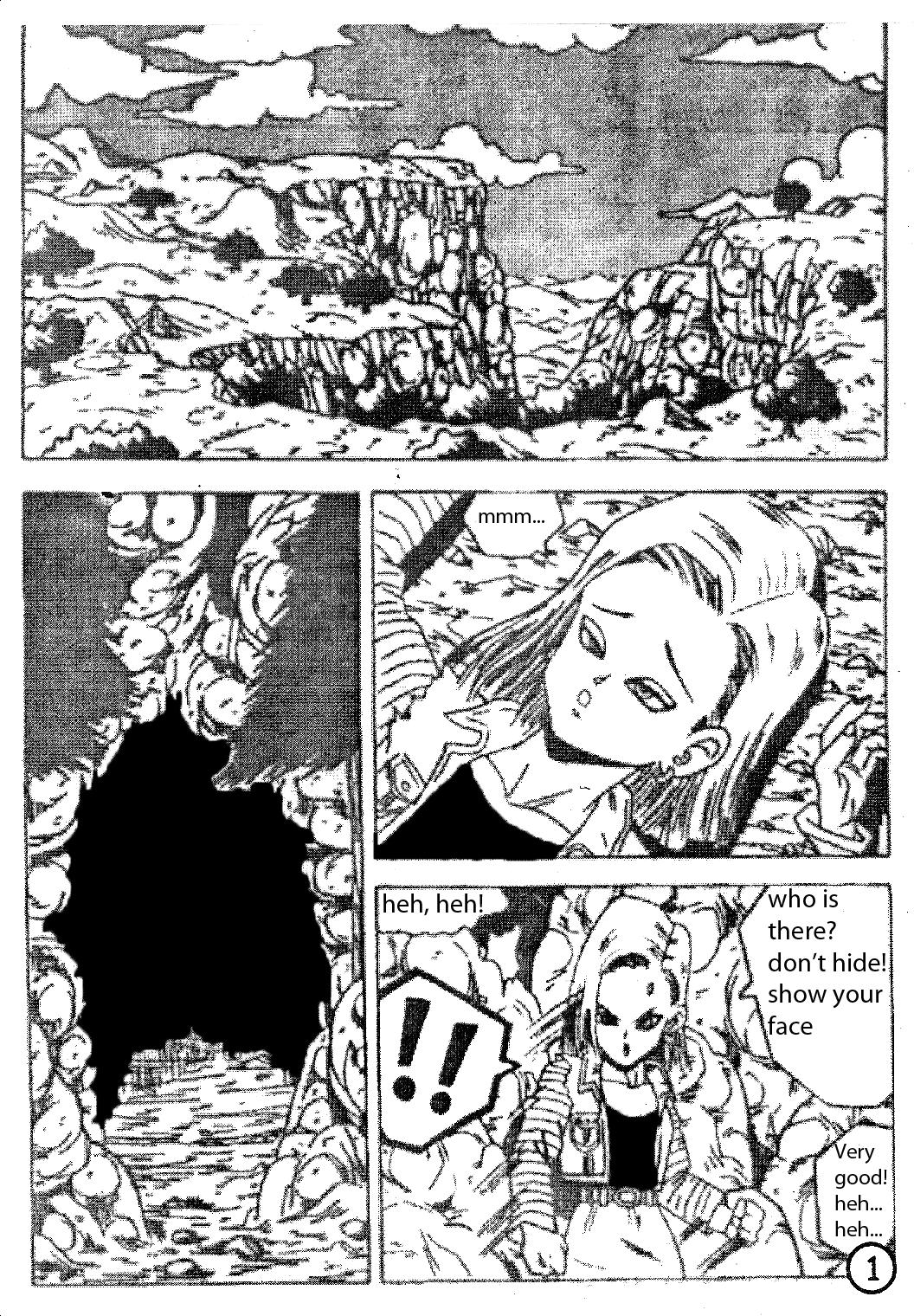 Trunks and android 18 1