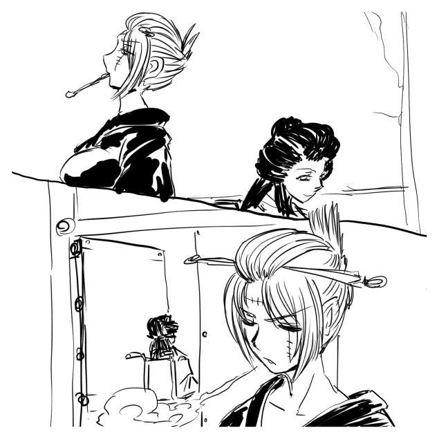 Tsukuyo ga Shokushu Furo de Naburareru! 3