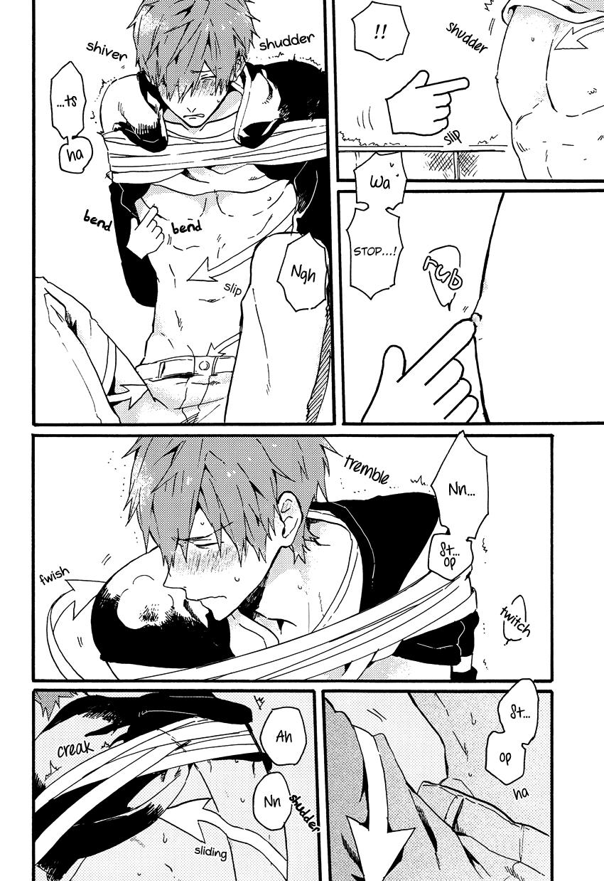 (Renai Shachuation) [Pesce Rosso (Zukki)] Yajirushi-kun yori, | From Cursor-kun (Free!) [English] [Seabreeze Romance Scans] 20