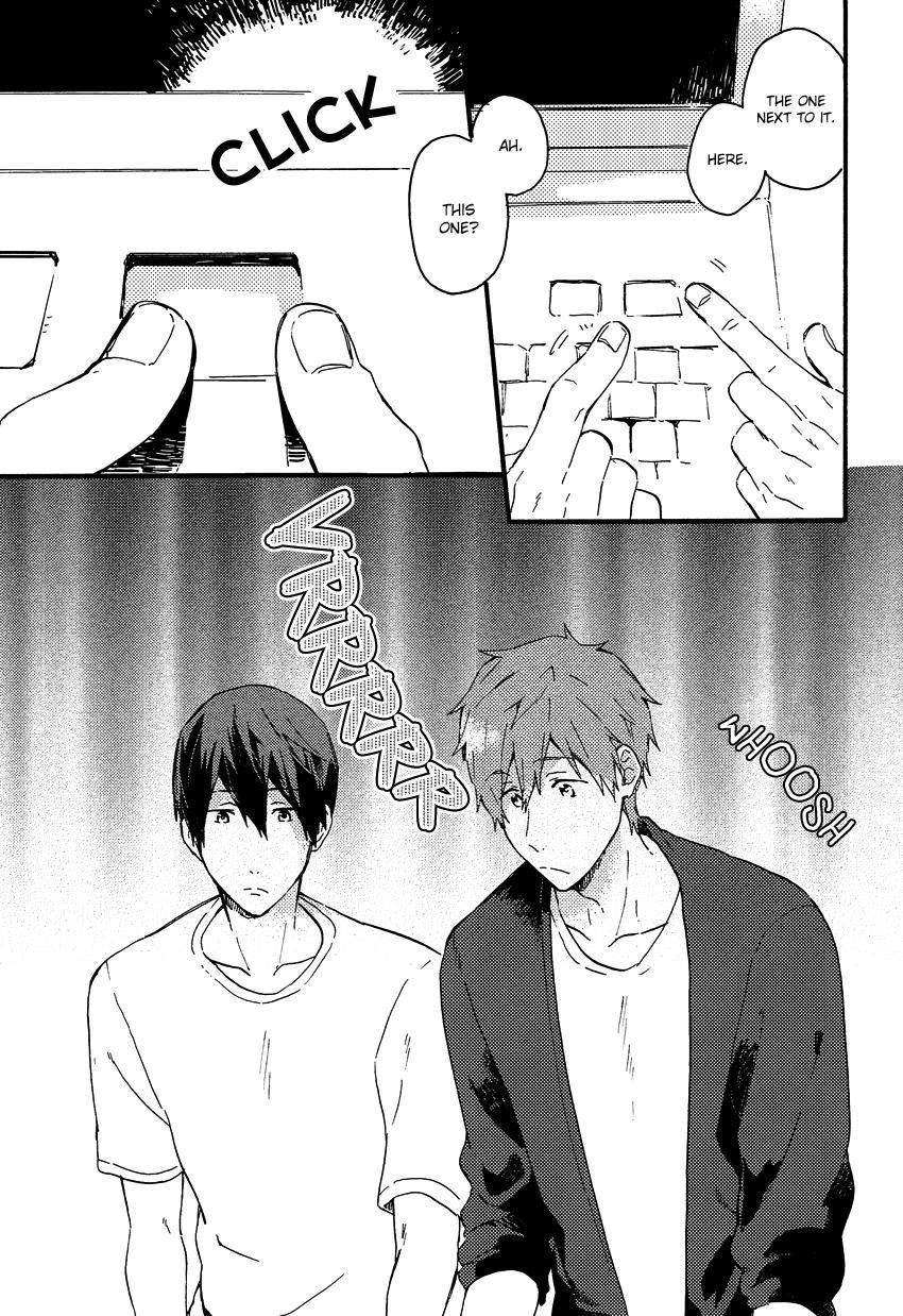 (Renai Shachuation) [Pesce Rosso (Zukki)] Yajirushi-kun yori, | From Cursor-kun (Free!) [English] [Seabreeze Romance Scans] 3