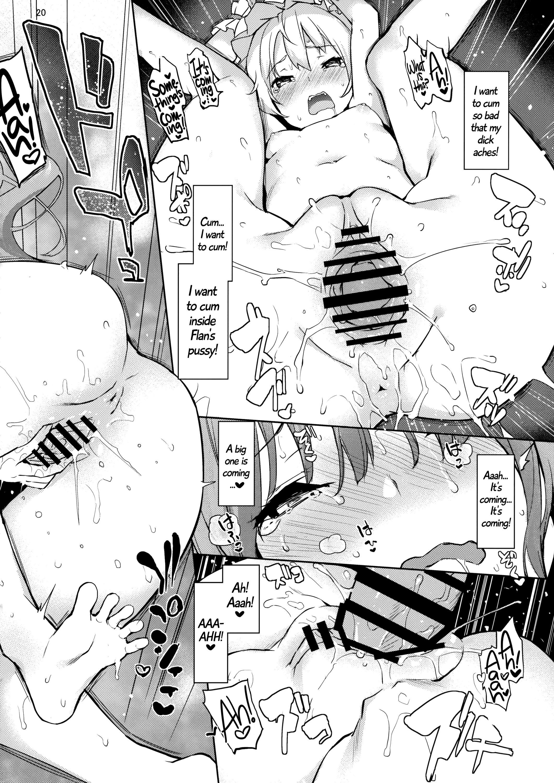 (Reitaisai 13) [Anmitsuyomogitei (Michiking)] Osewa Shinaide Flan Onee-chan! | Don't Take Care Of Me, Flan Onee-chan! (Touhou Project) [English] =Facedesk + CW= 19