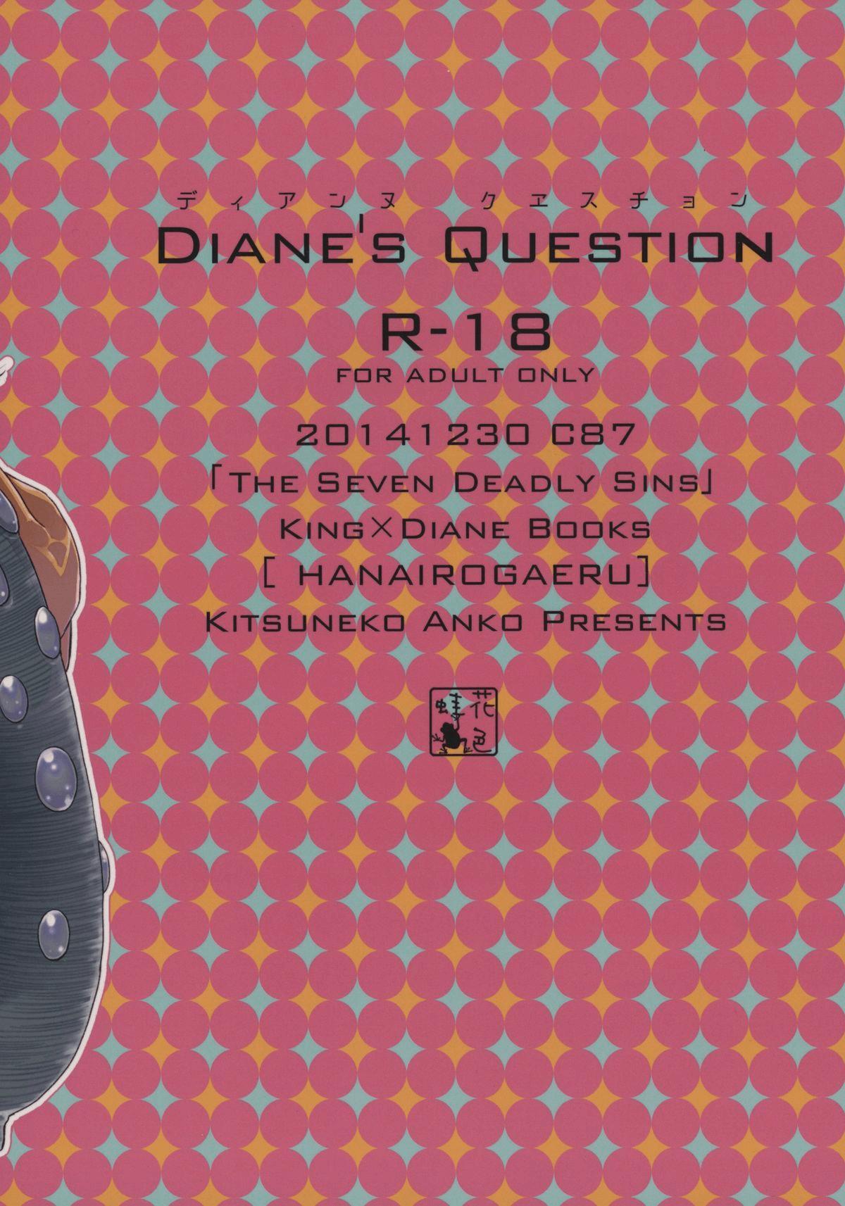 Diane's Question 1