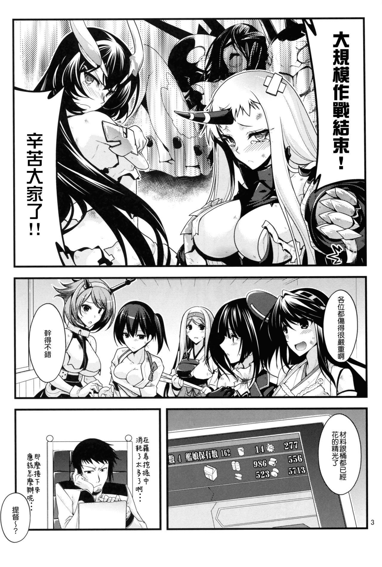 Atago-neesan to Hokyuu o Isshuukan 3