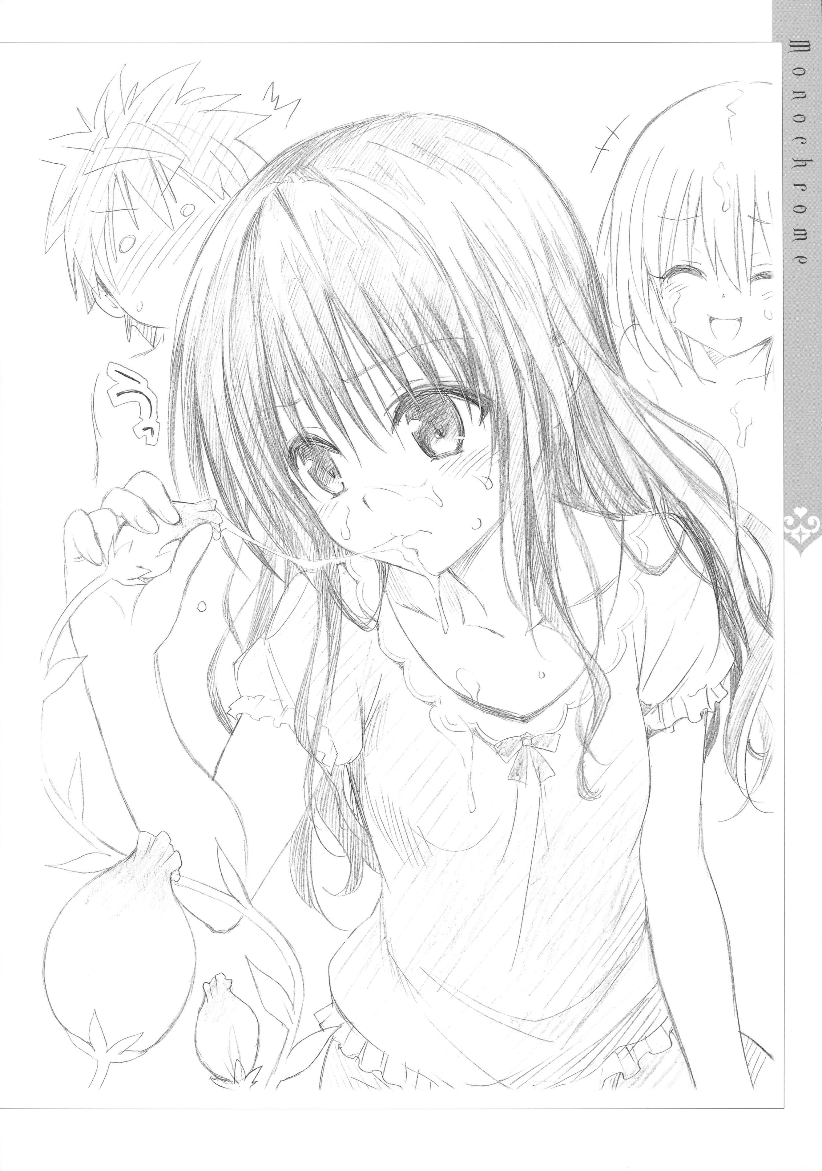 [Yabuki Kentaro] To Love-Ru -Trouble- Darkness Artbook Harem Gold 114