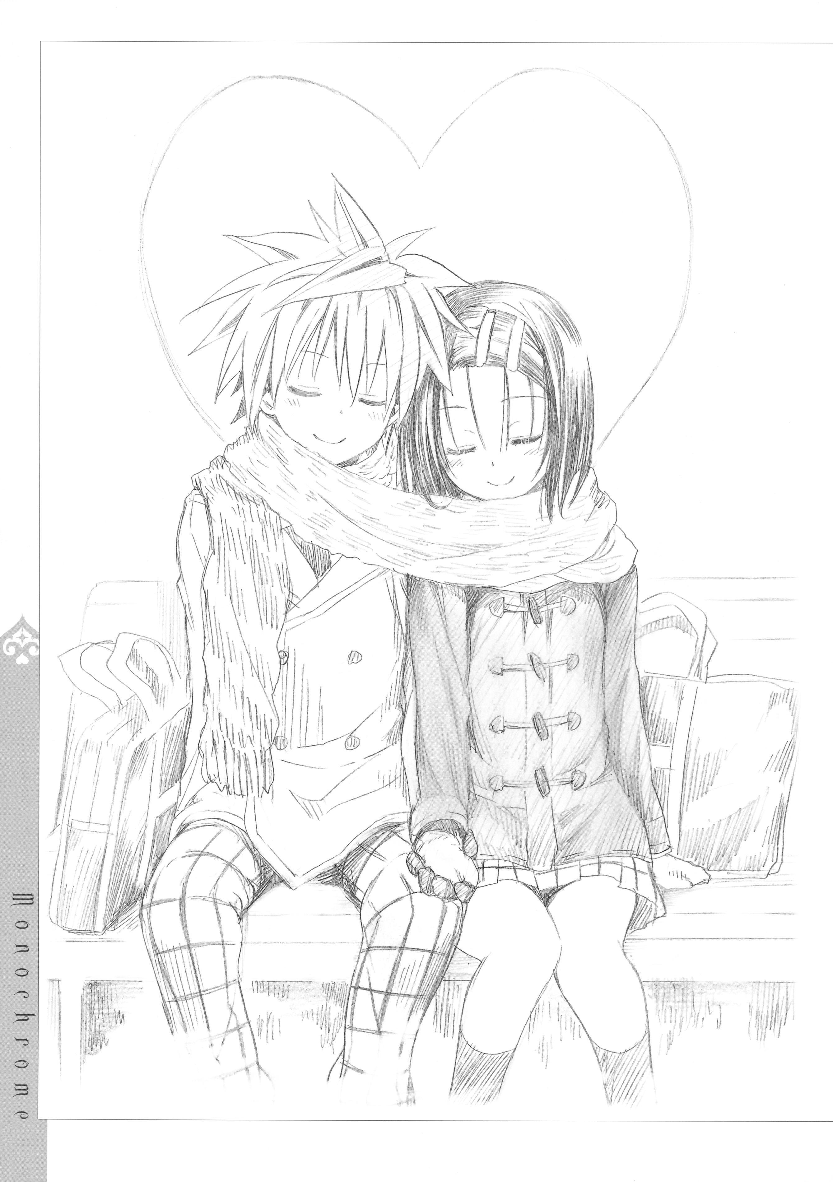 [Yabuki Kentaro] To Love-Ru -Trouble- Darkness Artbook Harem Gold 133