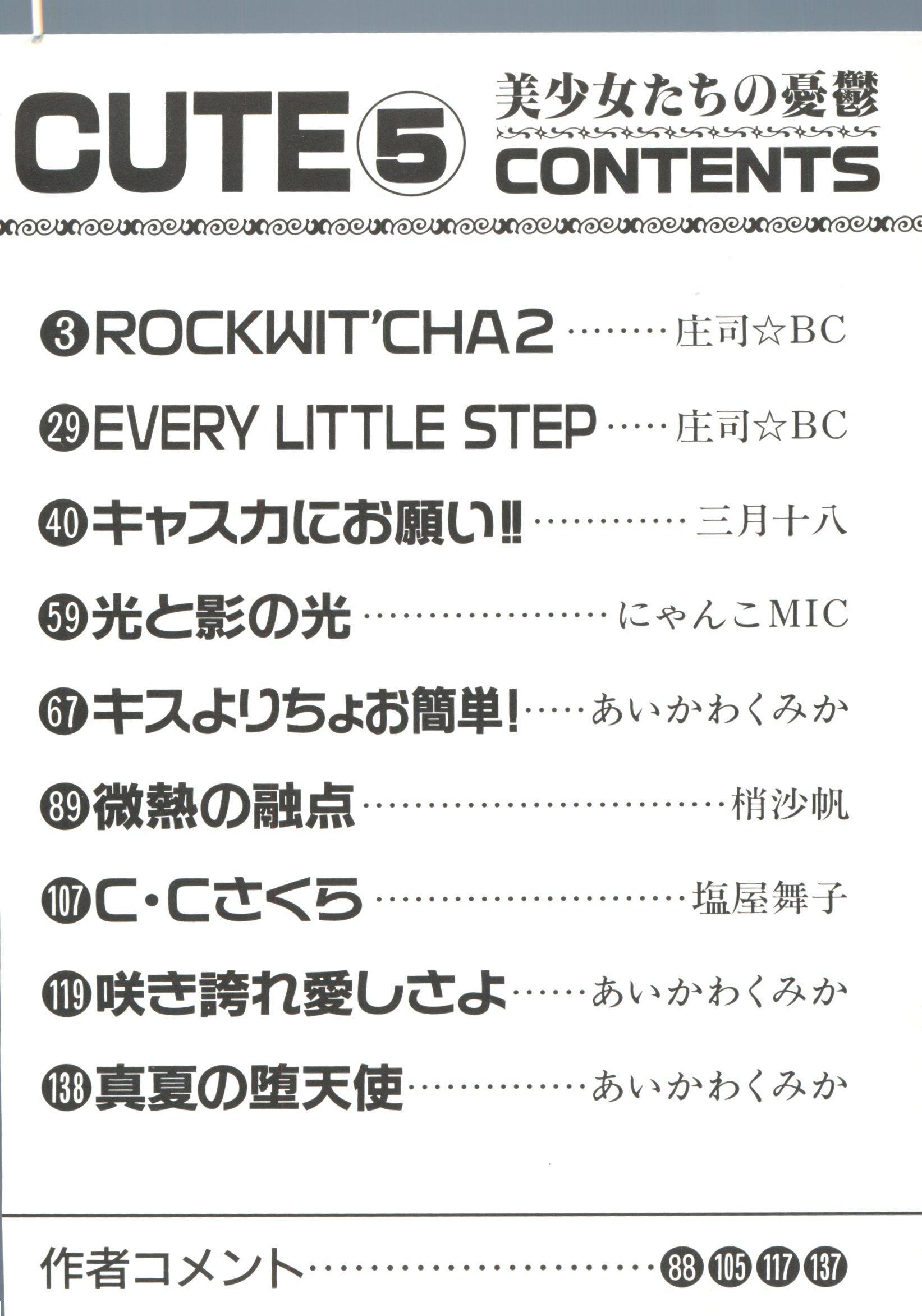 Bishoujo Doujinshi Anthology Cute 5 4