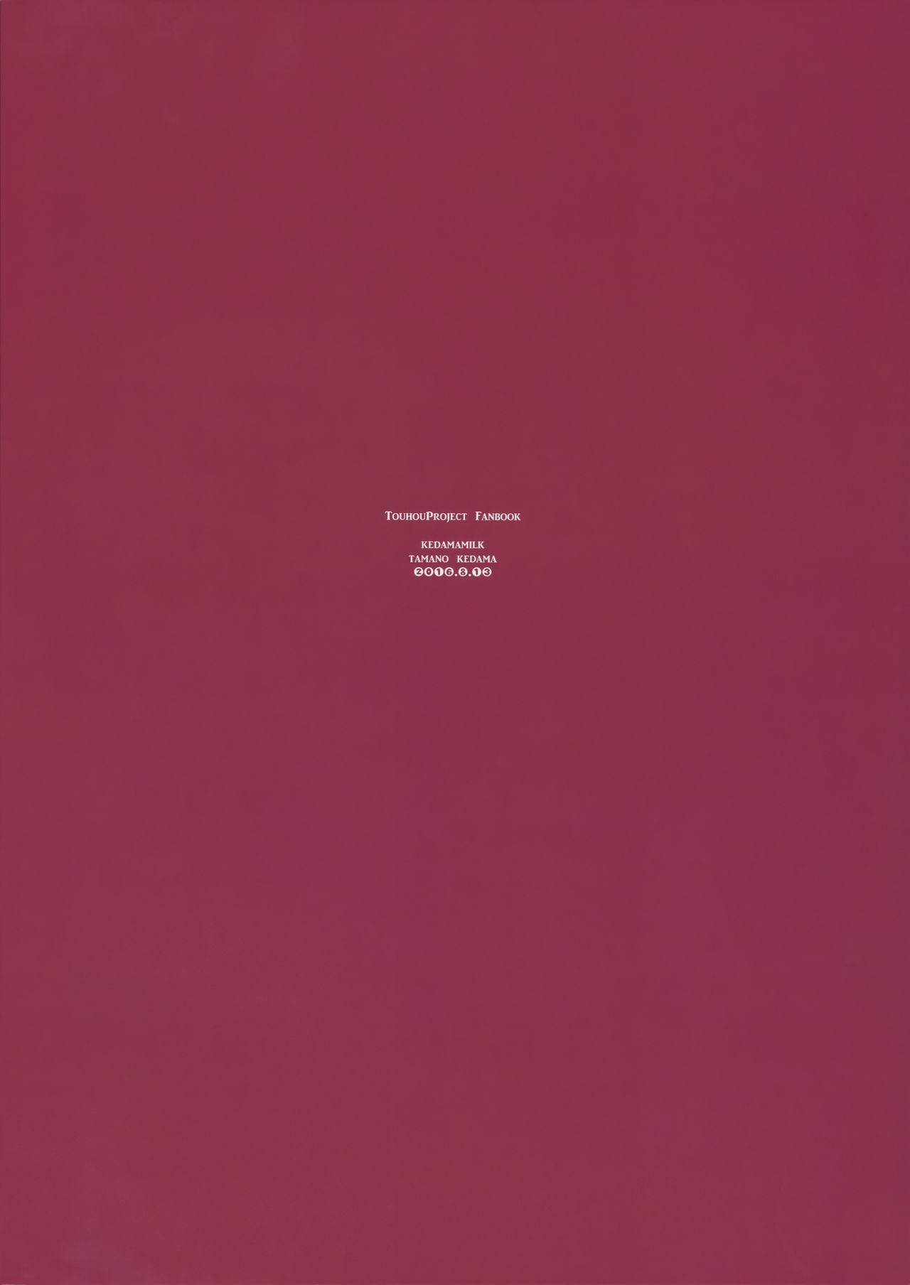 (C90) [Kedama Gyuunyuu (Tamano Kedama)] Karakuchi Patchouli-sama | Scathing Patchouli-sama (Touhou Project) [English] [Danicco] 25