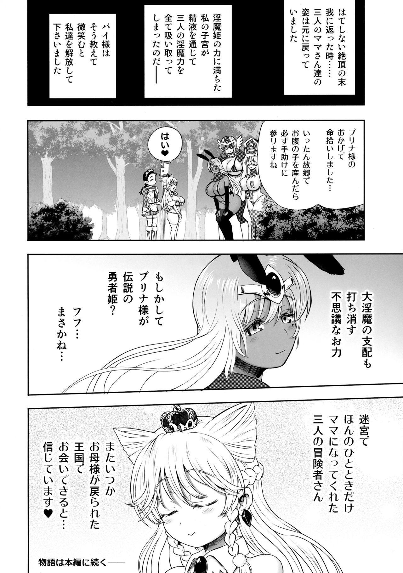 Meikyuu Oujo to 3-nin no Mama: NatsuComi Kaijou Shousasshitsuki Set 22