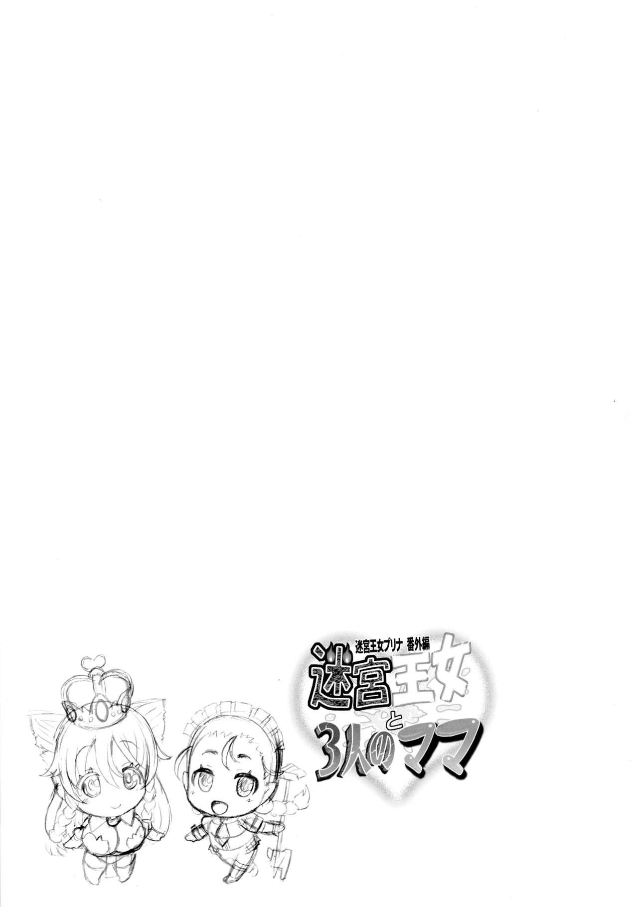 Meikyuu Oujo to 3-nin no Mama: NatsuComi Kaijou Shousasshitsuki Set 23