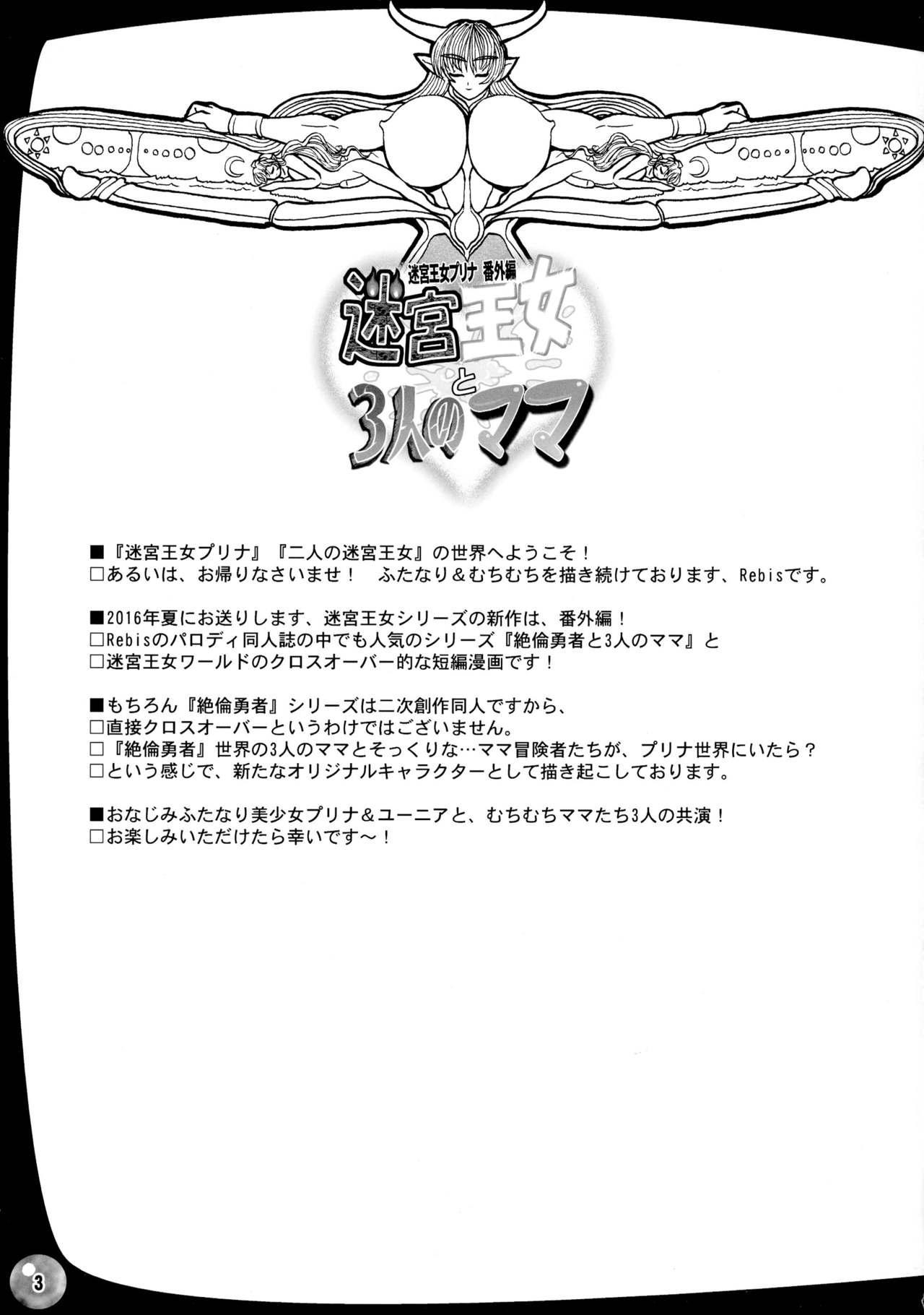 Meikyuu Oujo to 3-nin no Mama: NatsuComi Kaijou Shousasshitsuki Set 2