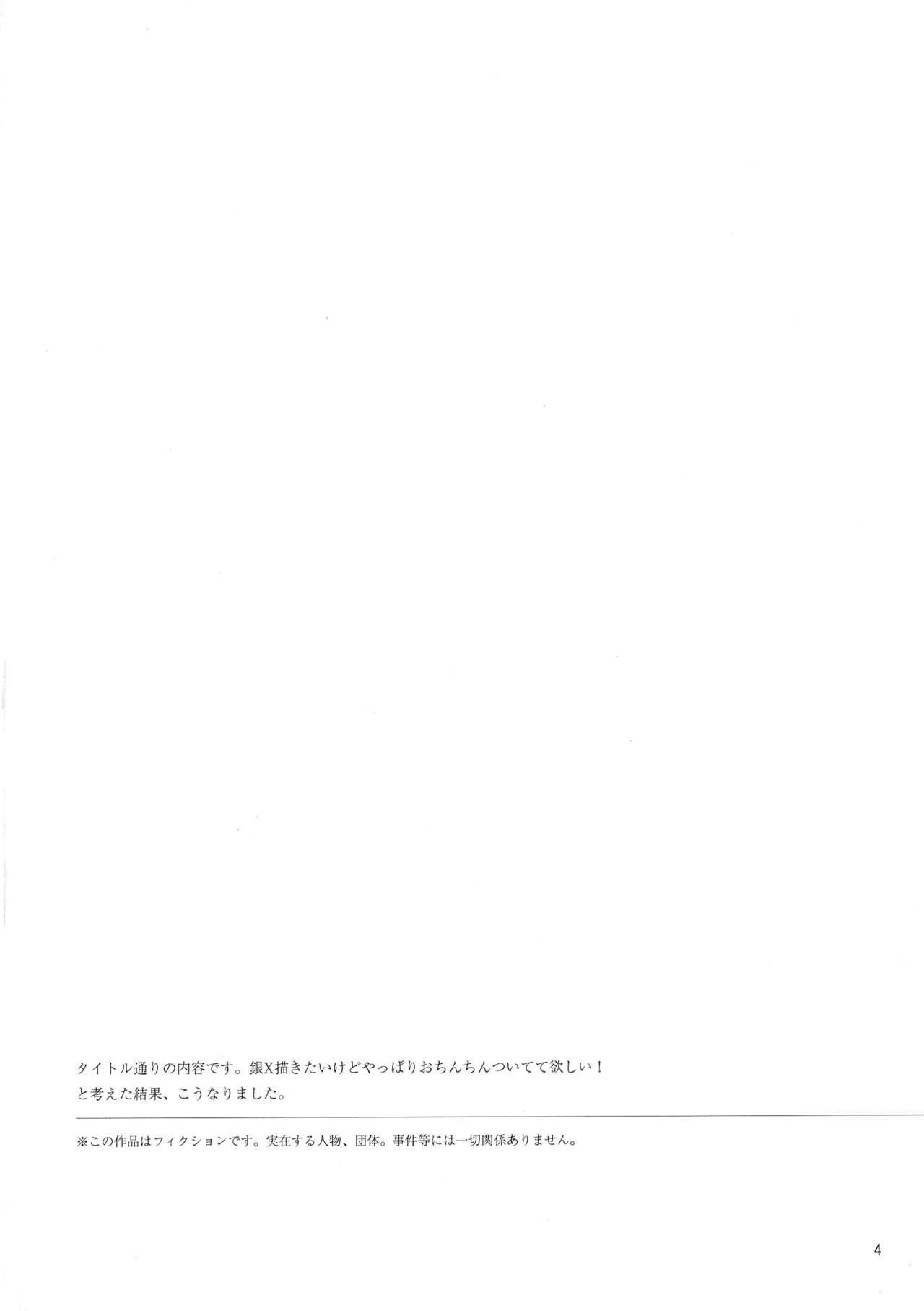 (C91) [nagraphic (nag)] Gin-san to Hijikata-san ga Nyotaika de Futanari no Hon (Gintama) 3