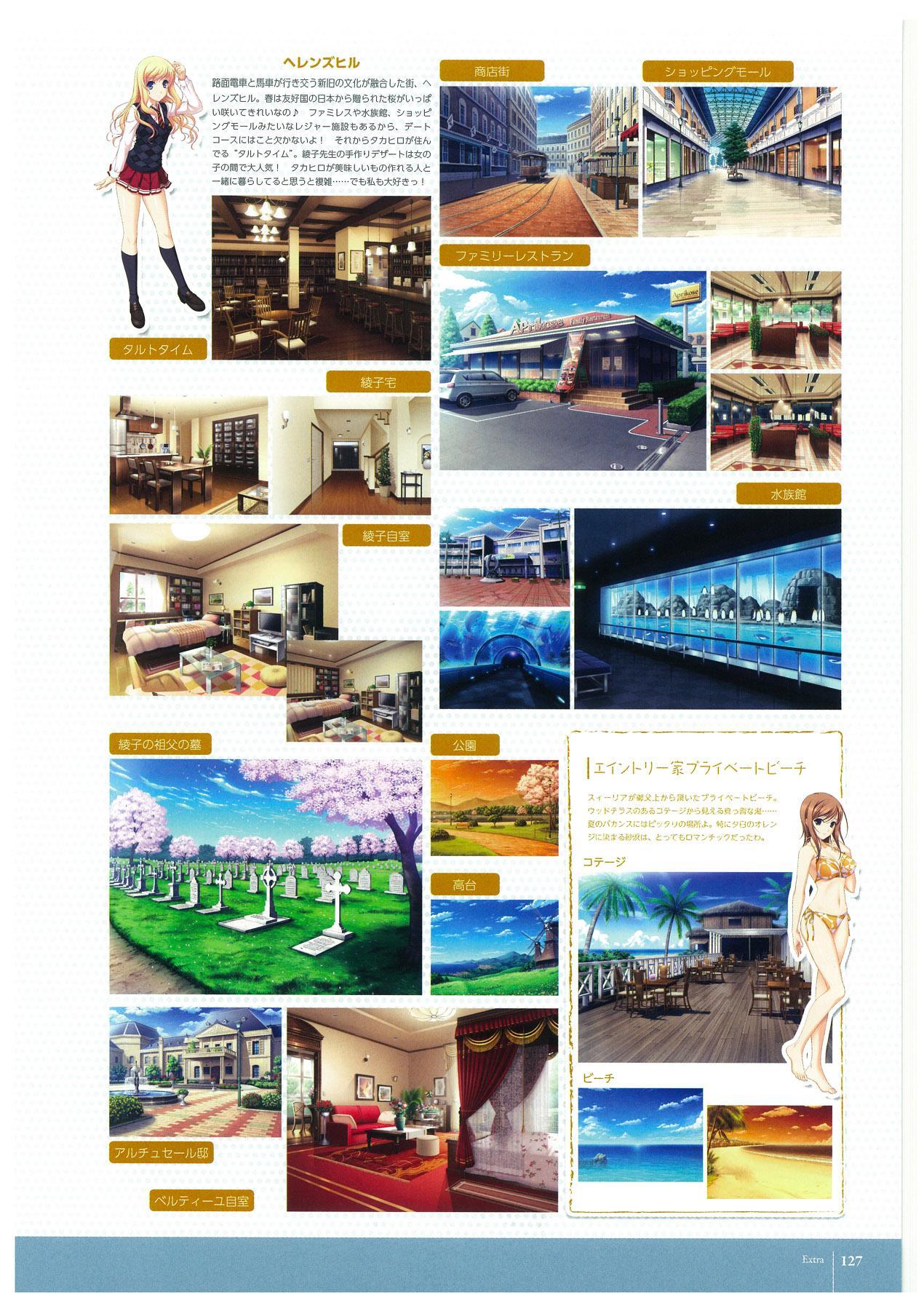 Walkure Romanze More & More Visual Fan Book 128