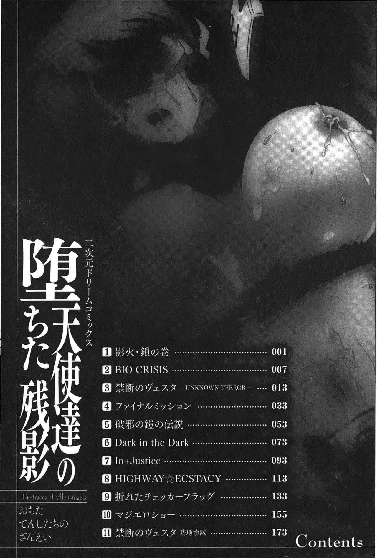 Ochita Tenshitachi no Zanei - The traces of fallen angels | 墮落的天使們的殘影 15