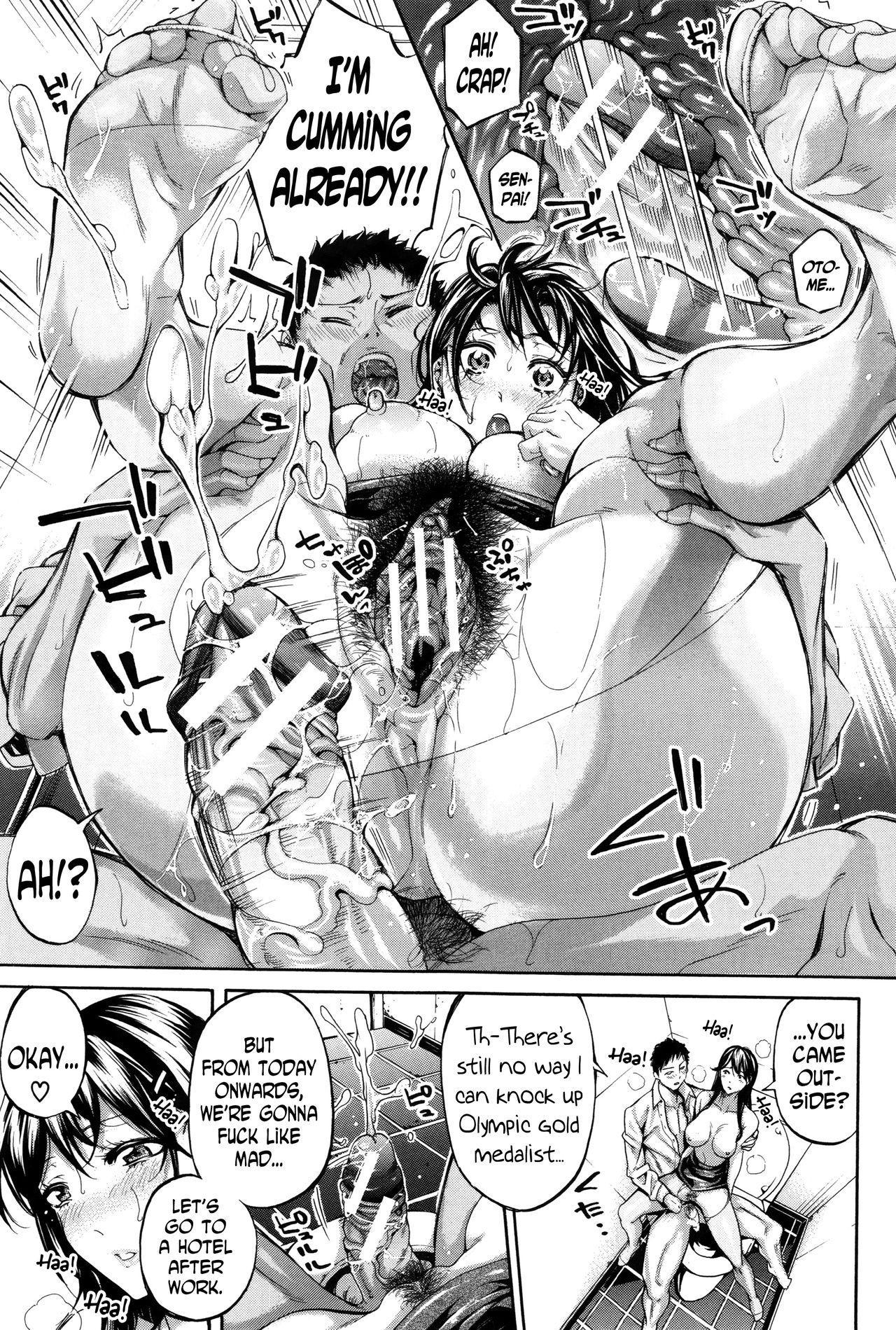 Hataraku Onna no Ureta Ase ch.1-5 39