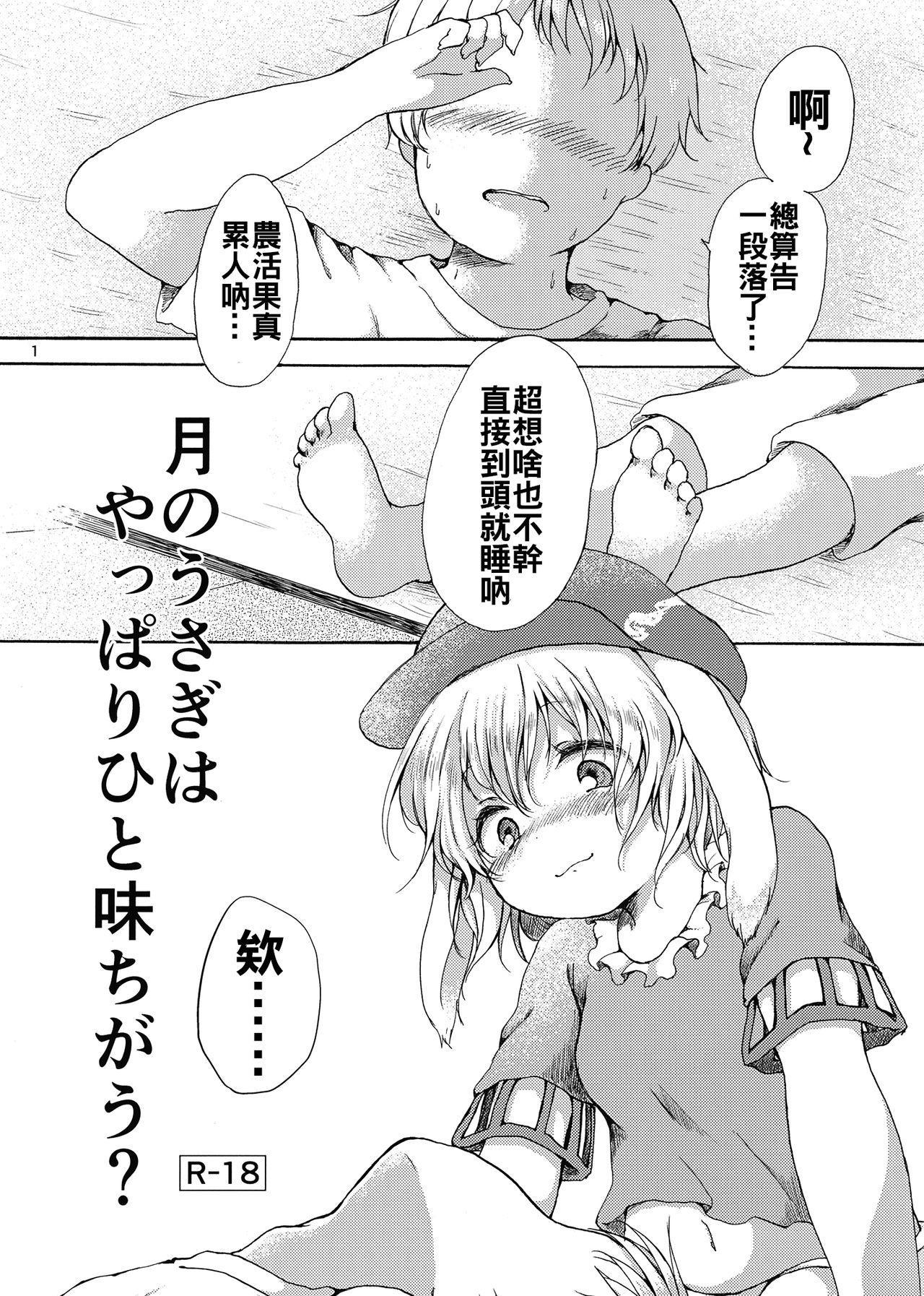 Tsuki no Usagi wa Yappari Hito Aji Chigau? 2