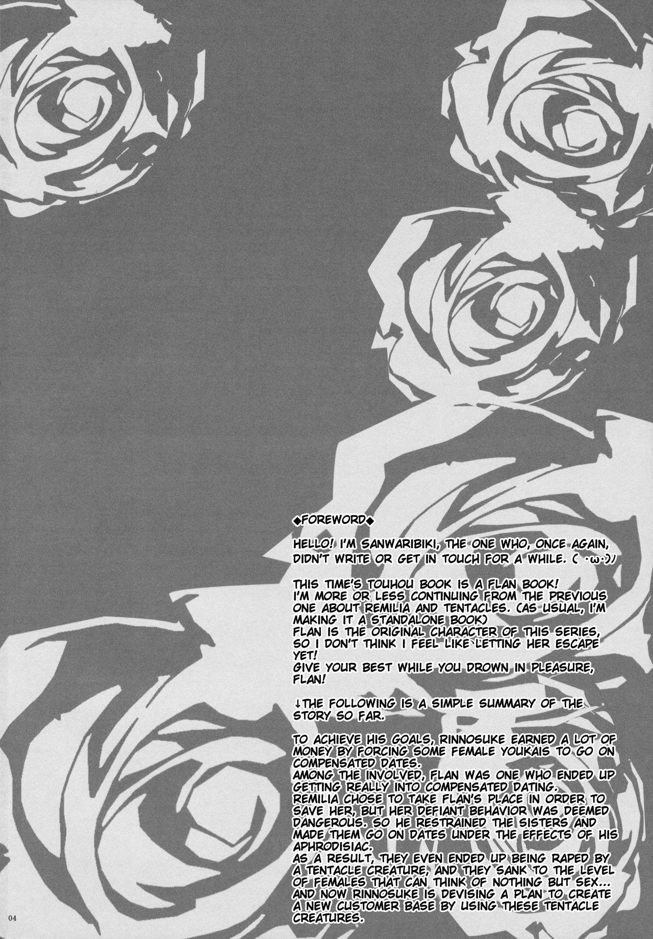 (C91) [MegaSoundOrchestra (Sanwaribiki)] Gensou Enkou -Flandre- Shoku (Touhou Project) [English] [SMDC] 3