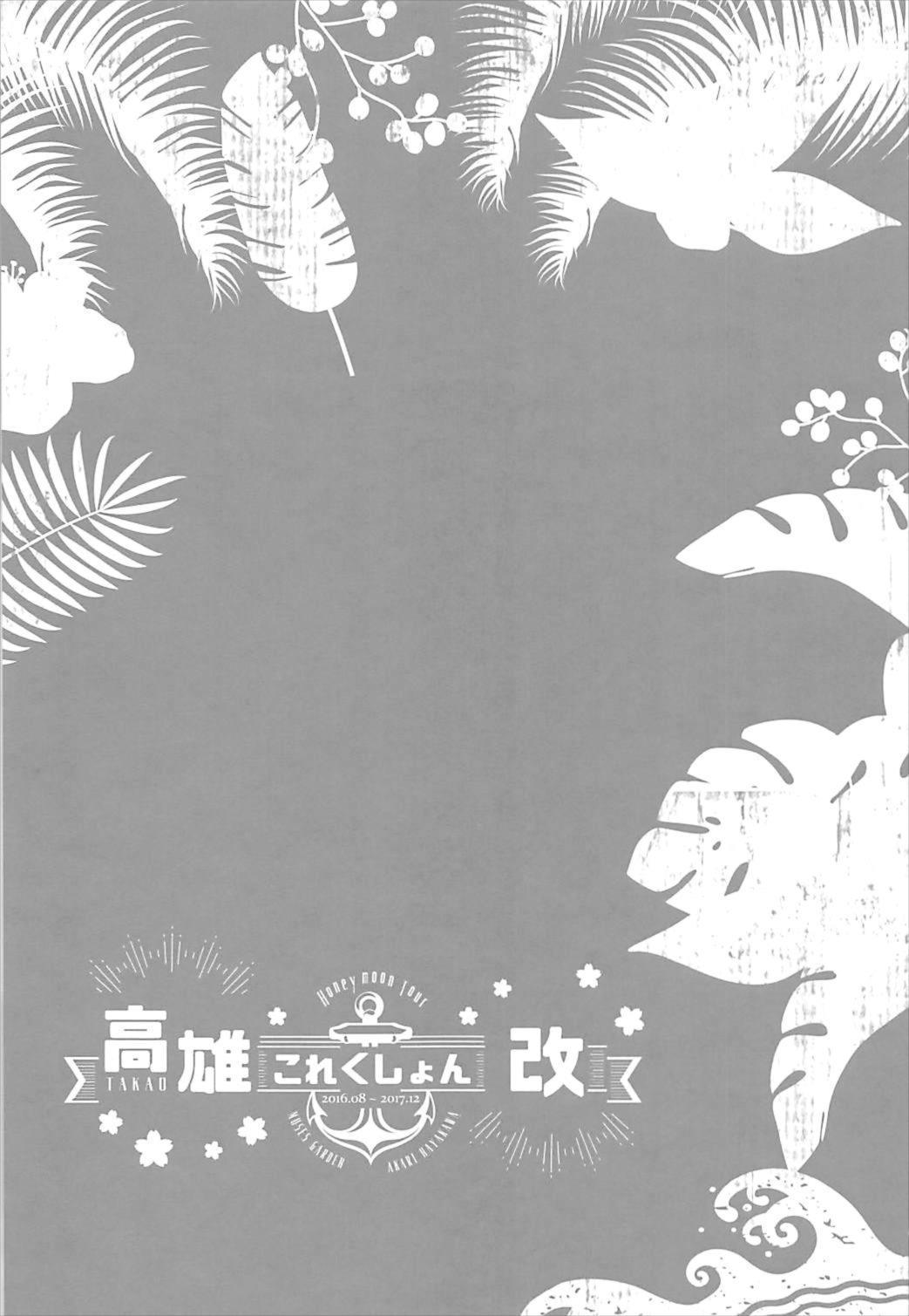 Takao Collection Kai Honeymoon Tour 20