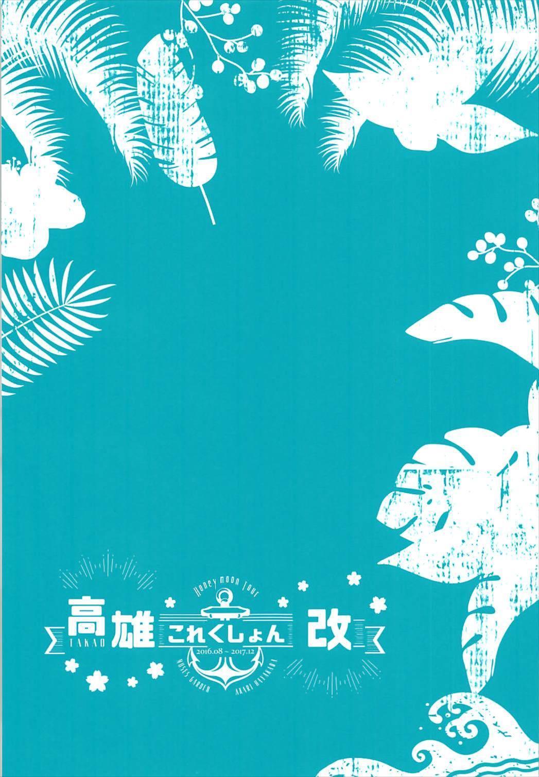 Takao Collection Kai Honeymoon Tour 2