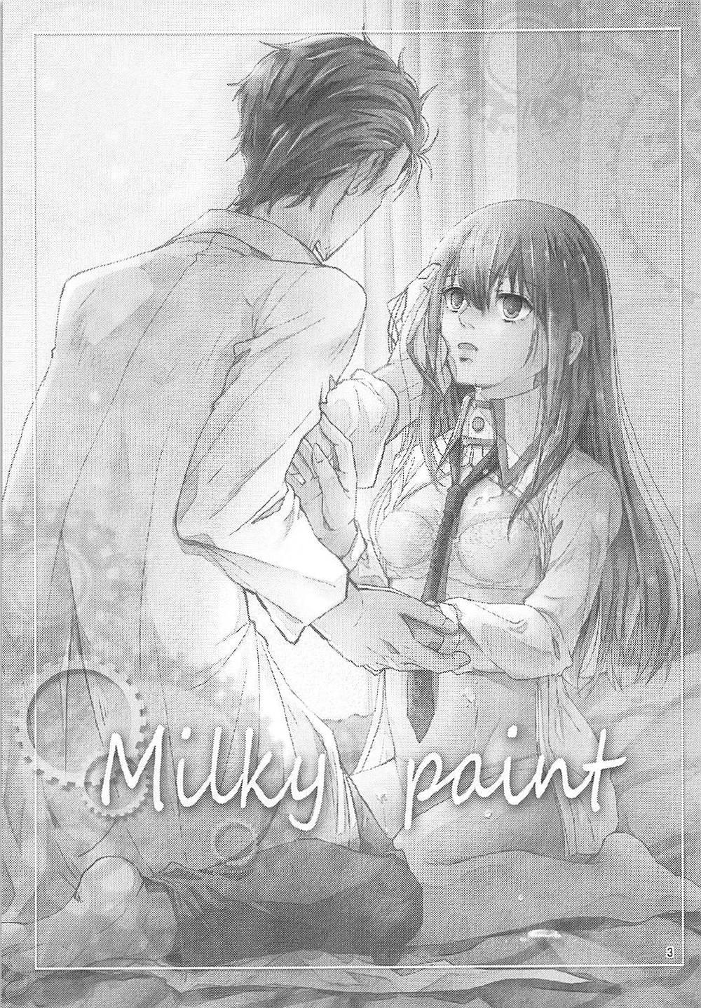 Milky paint 1