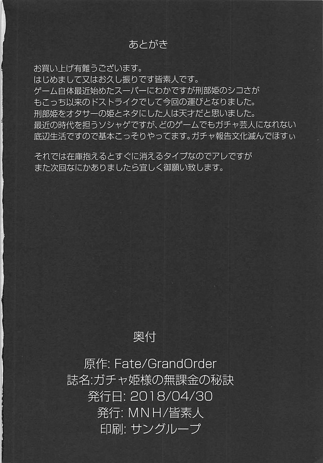 Gacha Hime-sama no Muri no Nai Kakin no Hiketsu 20