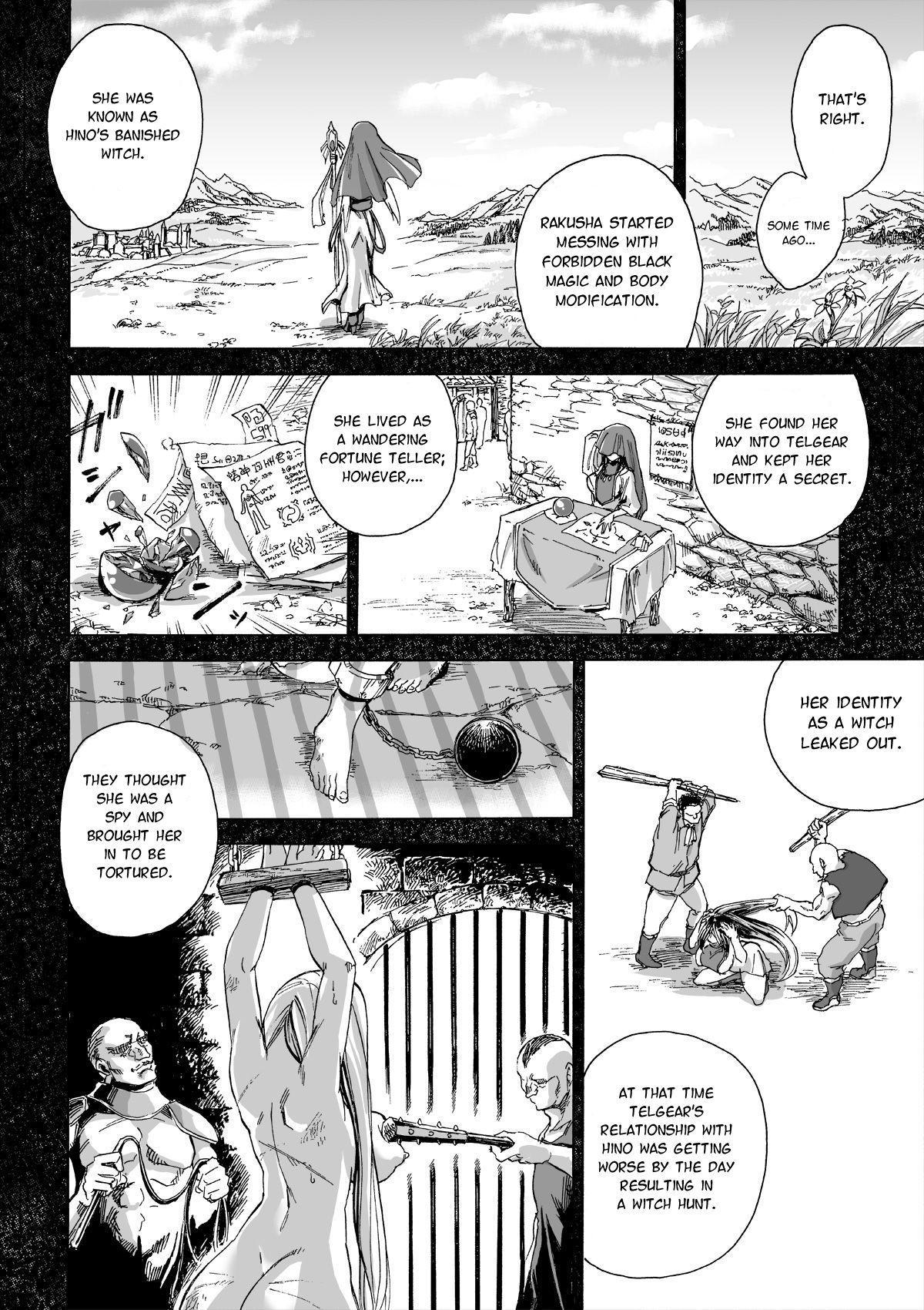 [Ido no Soko (Kei-kun)] Majo no Rakujitsu 2 -Kagyaku- | Witch's Final Hour 2 -Cruel Torture- [English] [Moko_T] 16