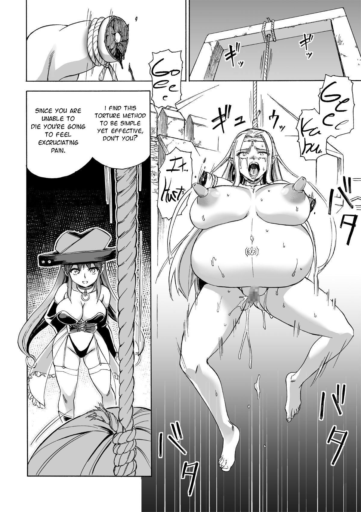 [Ido no Soko (Kei-kun)] Majo no Rakujitsu 2 -Kagyaku- | Witch's Final Hour 2 -Cruel Torture- [English] [Moko_T] 24