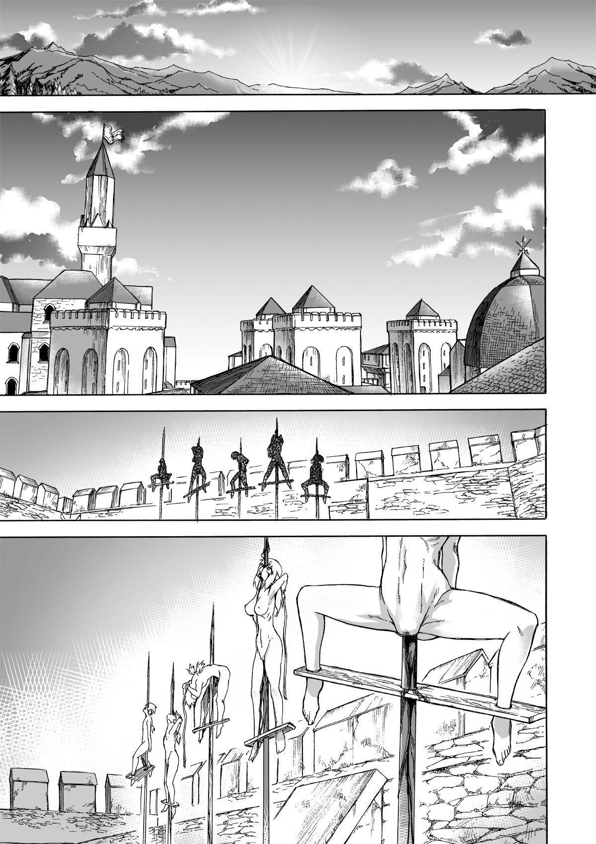 [Ido no Soko (Kei-kun)] Majo no Rakujitsu 2 -Kagyaku- | Witch's Final Hour 2 -Cruel Torture- [English] [Moko_T] 41