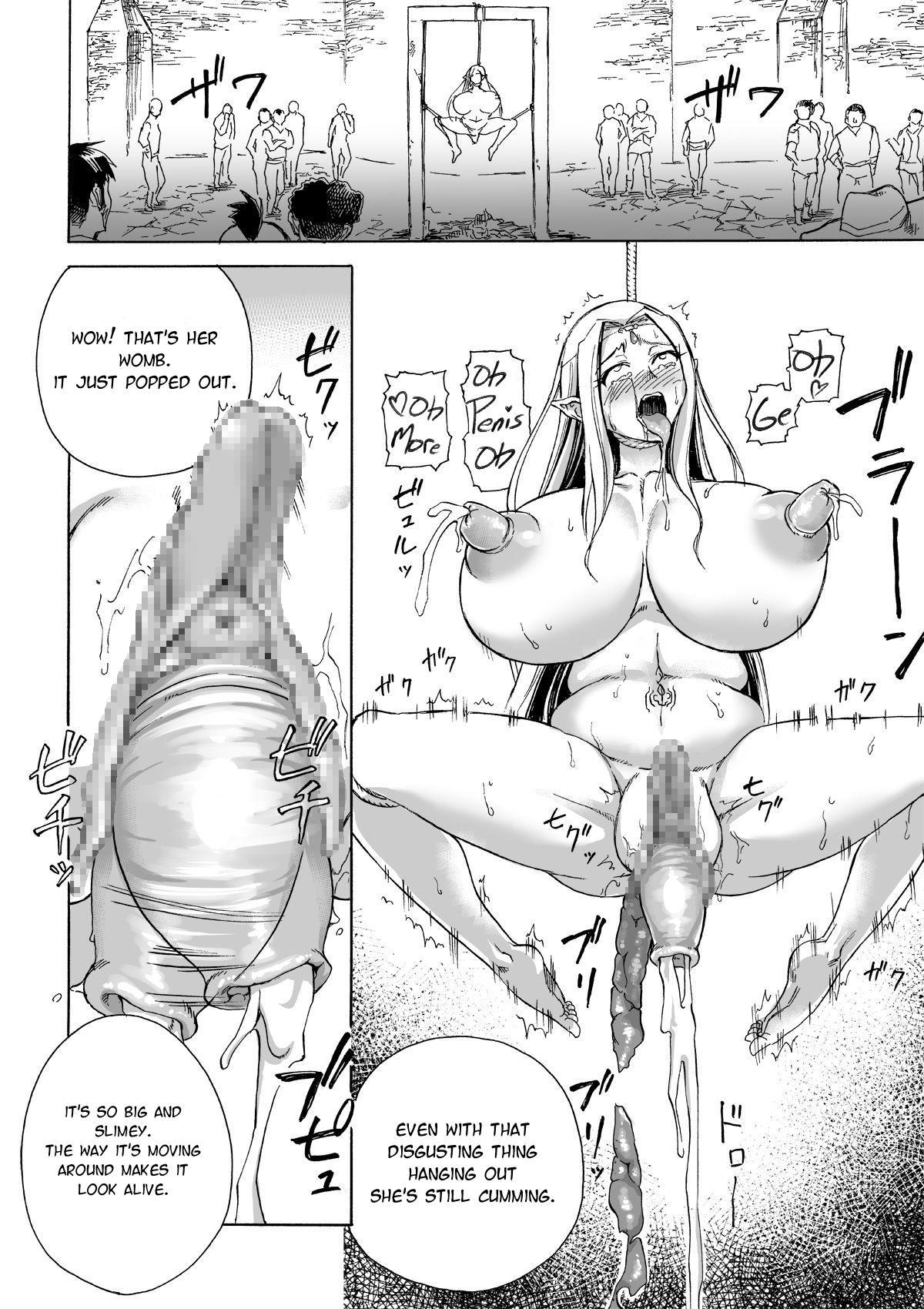 [Ido no Soko (Kei-kun)] Majo no Rakujitsu 2 -Kagyaku- | Witch's Final Hour 2 -Cruel Torture- [English] [Moko_T] 42