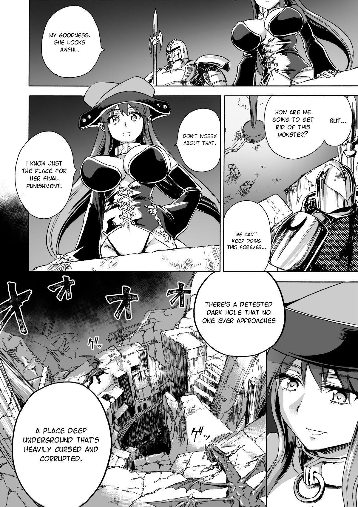 [Ido no Soko (Kei-kun)] Majo no Rakujitsu 2 -Kagyaku- | Witch's Final Hour 2 -Cruel Torture- [English] [Moko_T] 58