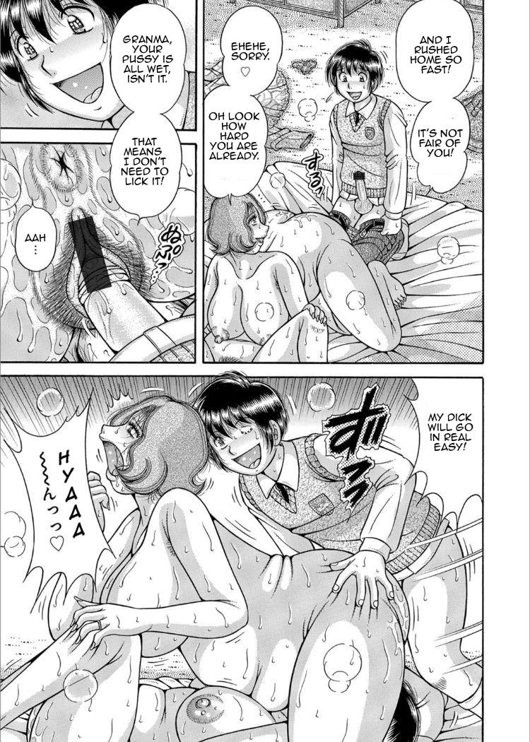 [Umino Sachi] Sansedai Soukan ~Boku to Kaa-san to Obaa-chan~   Forbidden Love ~Me, My Mother and Granma~ Chpt. 2-7 [English][Amoskandy] 82