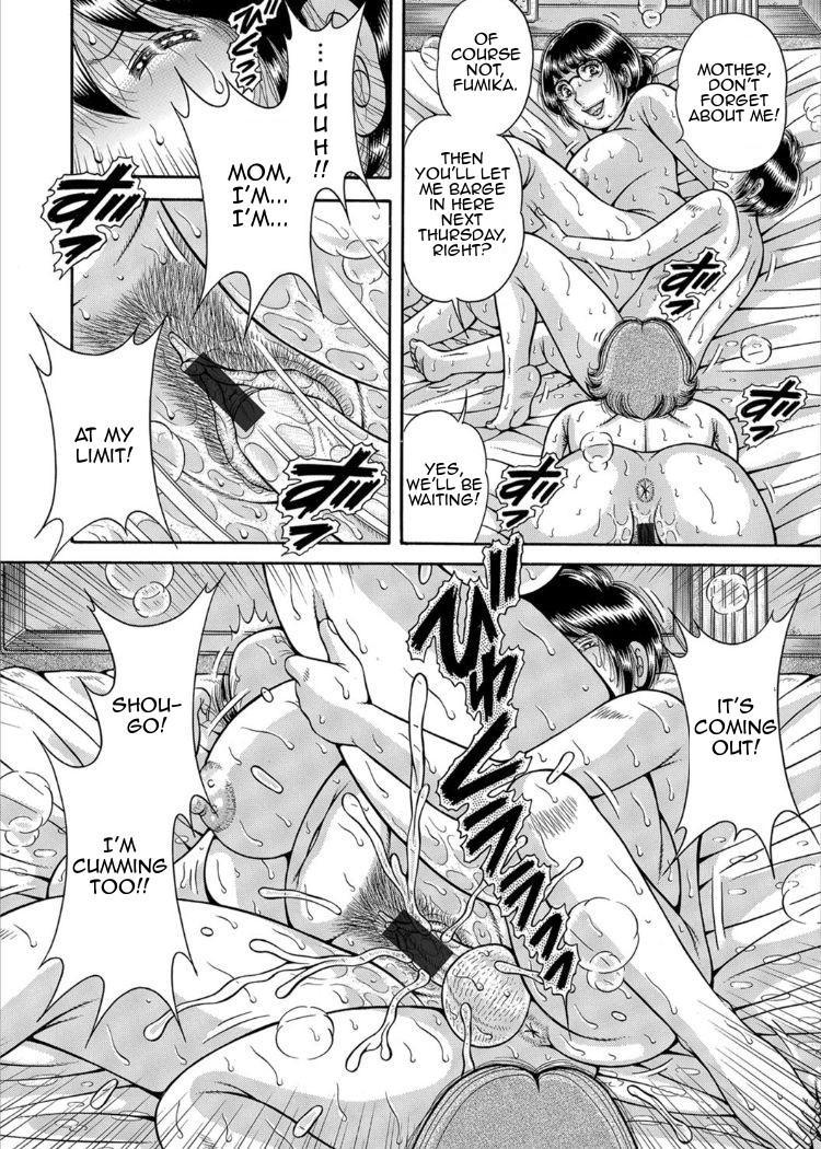 [Umino Sachi] Sansedai Soukan ~Boku to Kaa-san to Obaa-chan~   Forbidden Love ~Me, My Mother and Granma~ Chpt. 2-7 [English][Amoskandy] 89