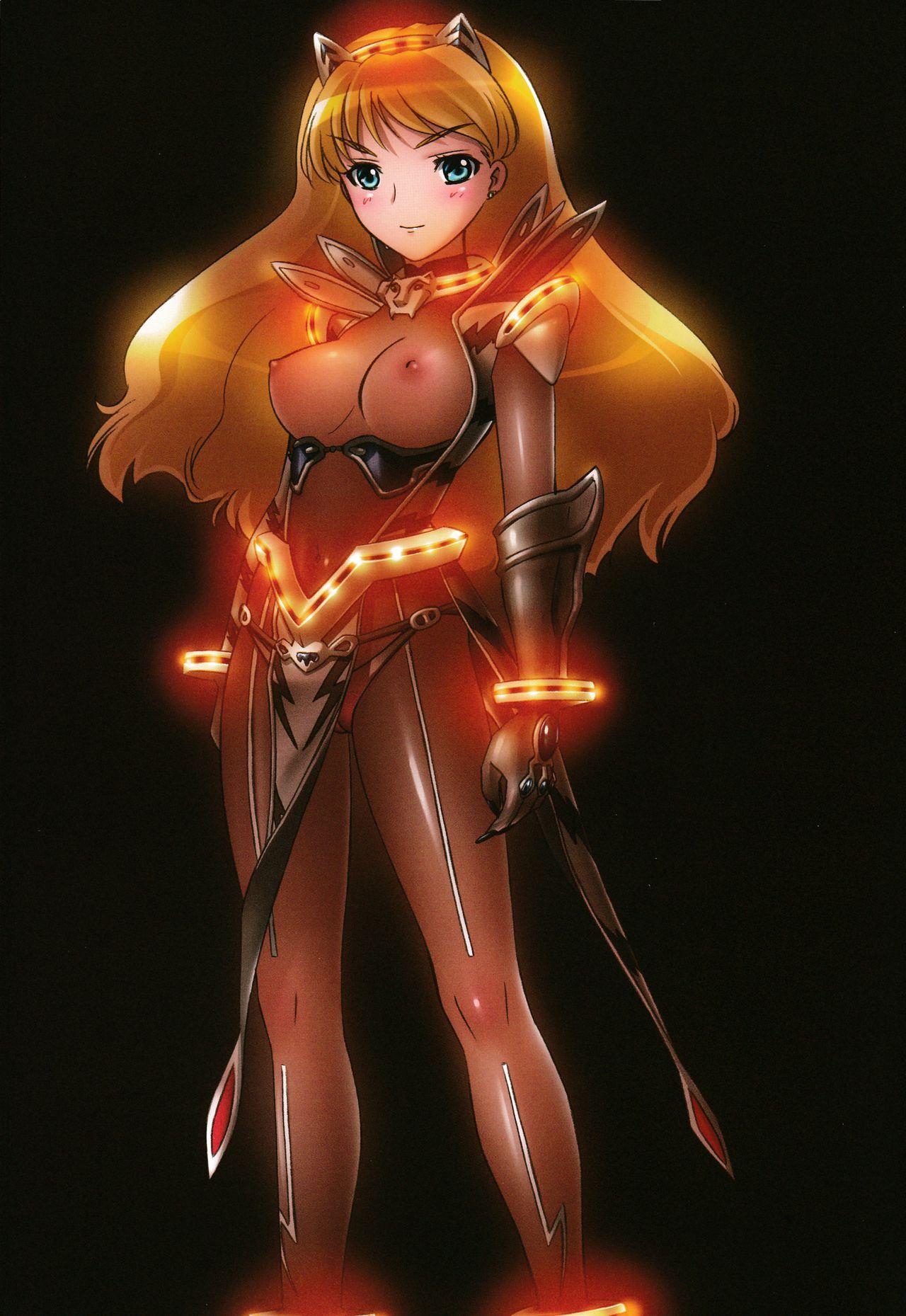 (C75) [Takahashi Record-ten (Takahashi Record) Eri Nare Naxa! Elina to Reina to H no Hon (Queen's Blade) 18