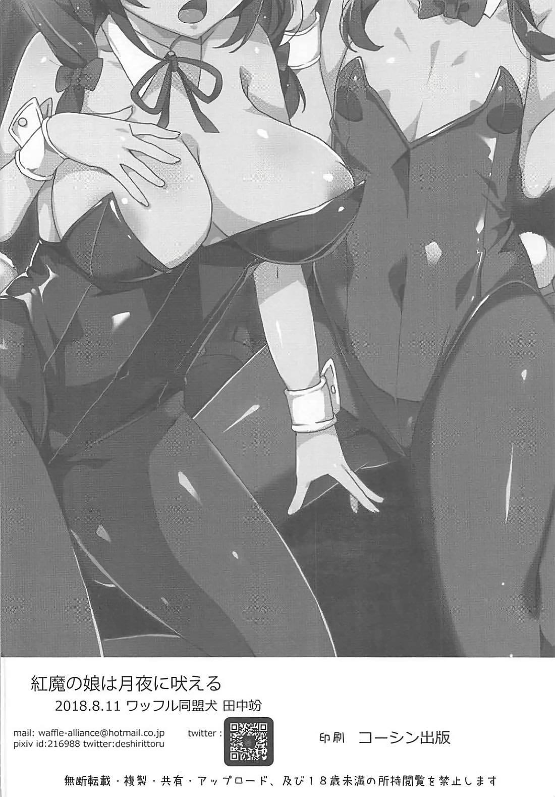 Kouma no Musume wa Tsukiyo ni Hoeru 14