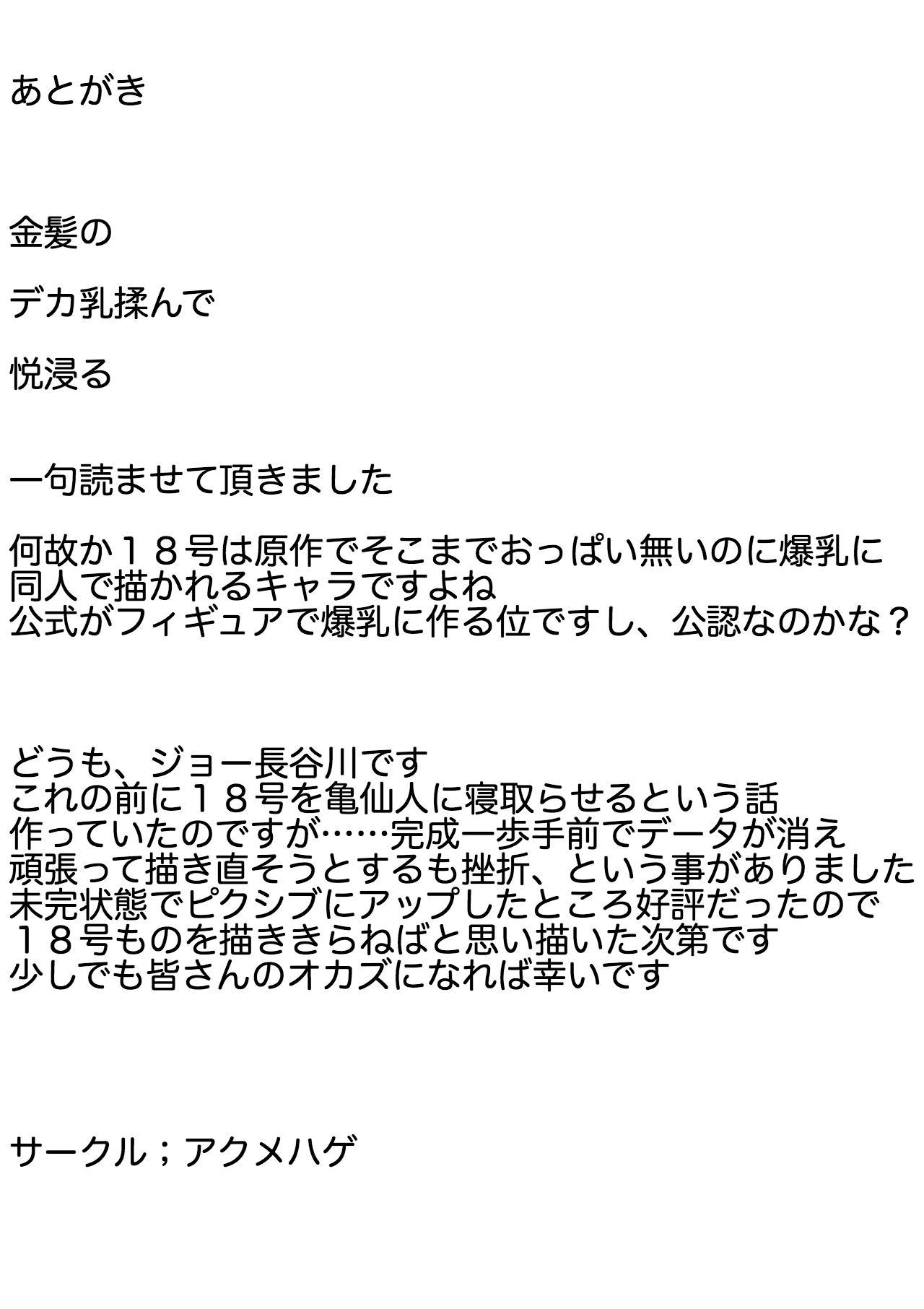 Ayatsuri 18-gou 21