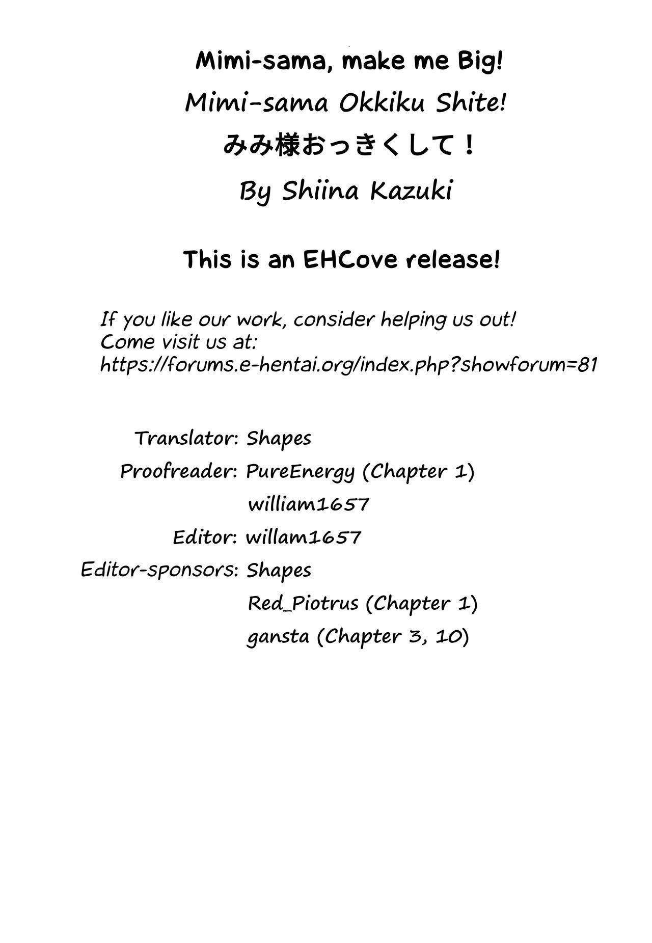 [Shiina Kazuki] Mimi-sama Okkiku Shite! - Mimi... Make me Big! | Mimi-sama make me Big! Ch. 1-3, 10 [English] [EHCove] 82