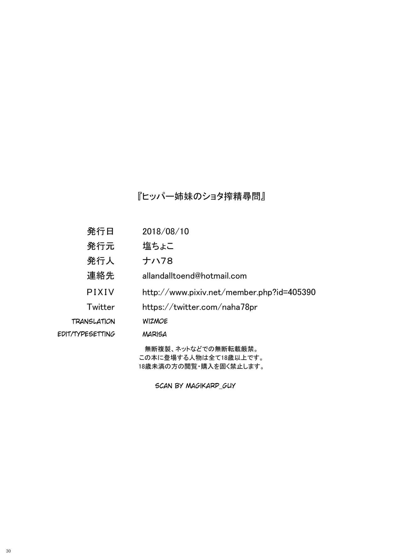 Hipper Shimai no Shota Sakusei Jinmon 29