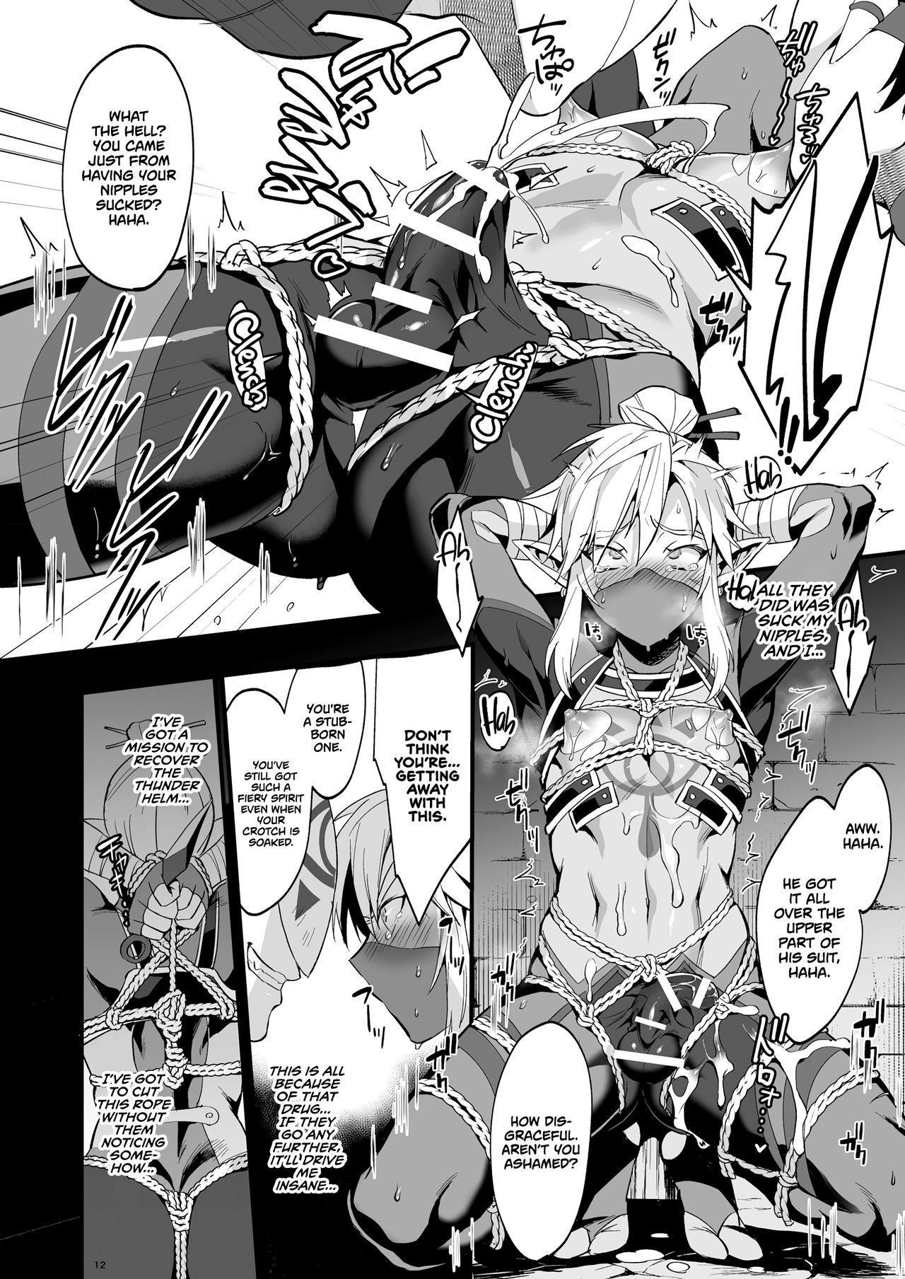 [Morittokoke (Morikoke)] Eiketsu Ninja Gaiden ~Haiboku Hen~ | The Champion's Ninja Side Story ~Failure~ (The Legend of Zelda) [English] =TLL + mrwayne= [Digital] 9
