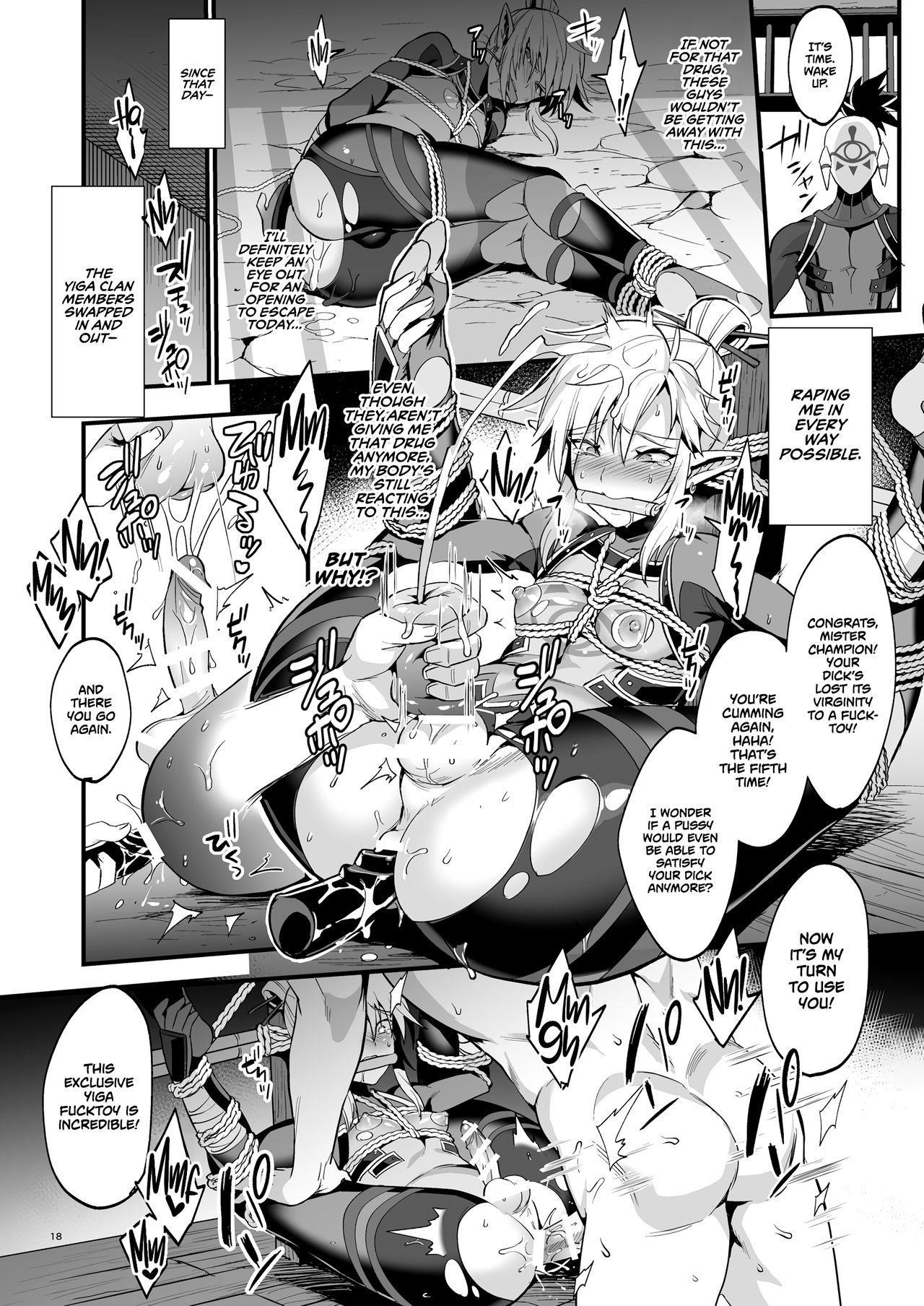 [Morittokoke (Morikoke)] Eiketsu Ninja Gaiden ~Haiboku Hen~ | The Champion's Ninja Side Story ~Failure~ (The Legend of Zelda) [English] =TLL + mrwayne= [Digital] 15