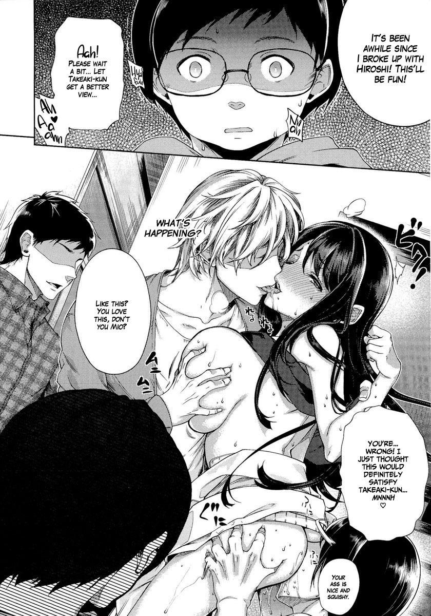 [Ohkami Ryosuke] Chuuko Kanojo ~Somekaerareta Seiheki~ | Secondhand Girlfriend ~A fetish for being soiled/stained~ (Fuufu no Kizuna - Tsuma wa Wakazou no Nikubenki) [English] =White Symphony= 9