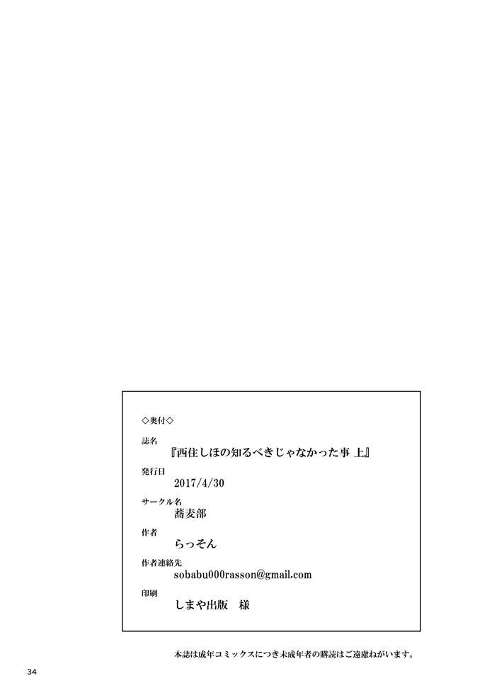 Nishizumi Shiho no Shirubeki ja Nakatta Koto Jou 31