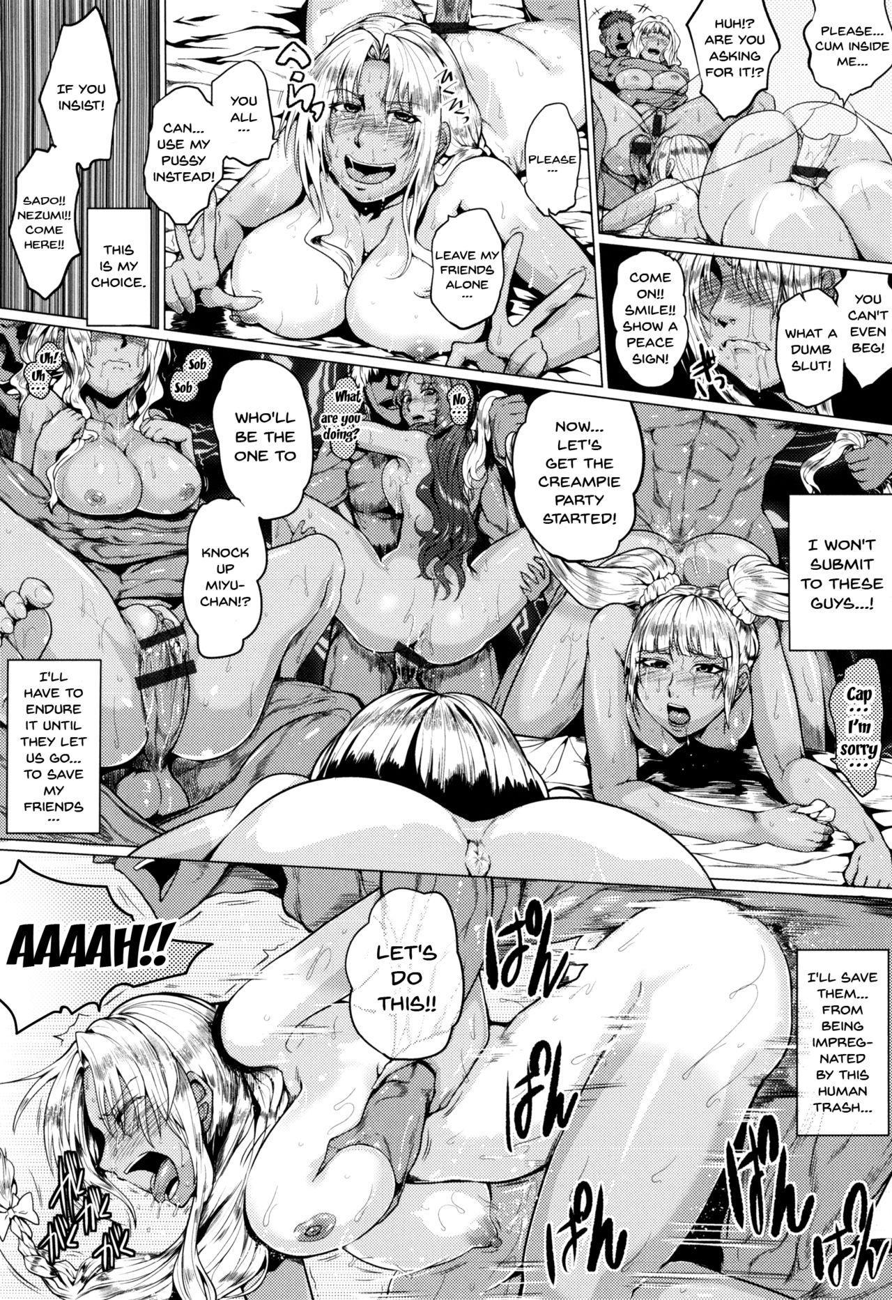 Hazukashime no Ran Tanetsuke Gokumon Sikyuu Ikimawashi Ch. 1-2 22