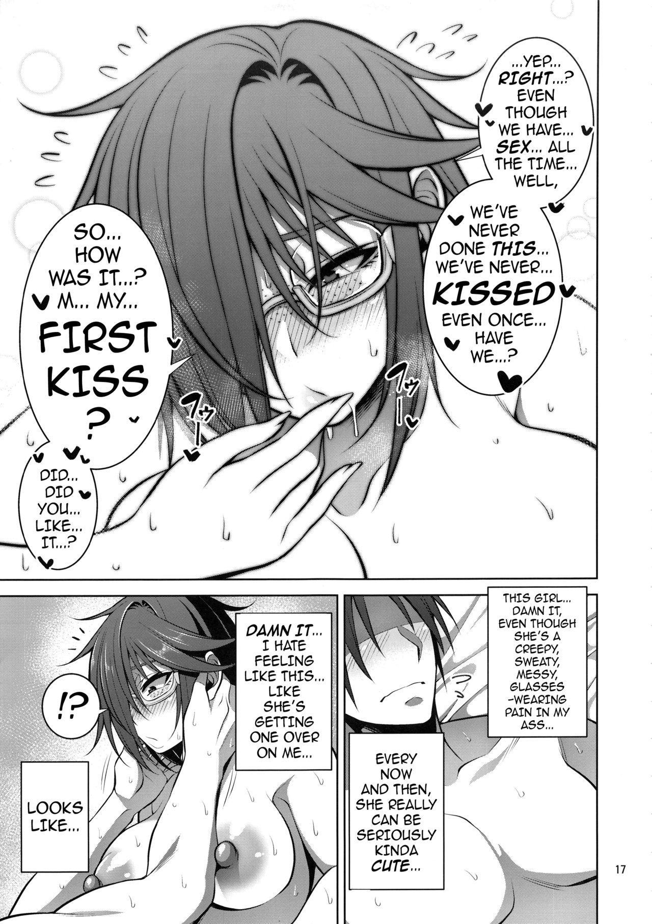 Nekura Megane ♀ no Hon | The Creepy Glasses Girl Book 15