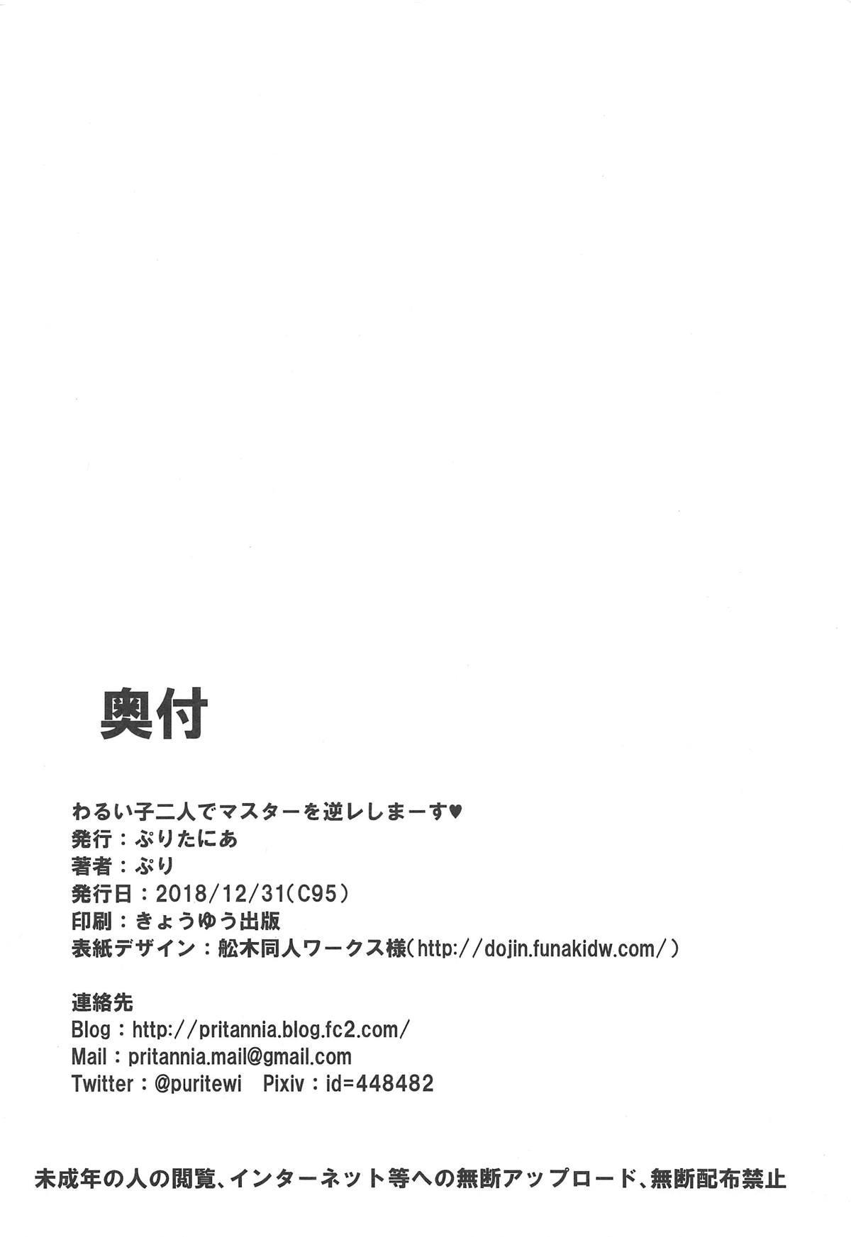 waruiko futari de master wo GYAKURE shima-su. 20