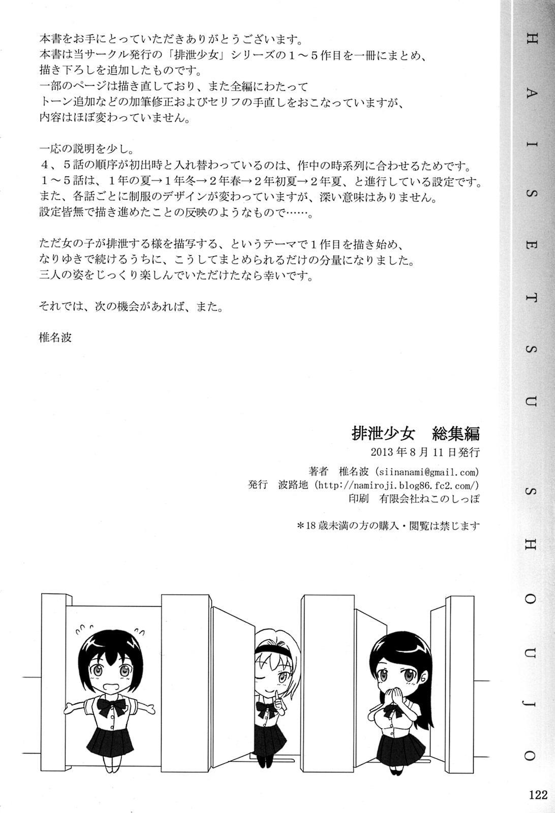 Haisetsu Shoujo Soushuuhen 121