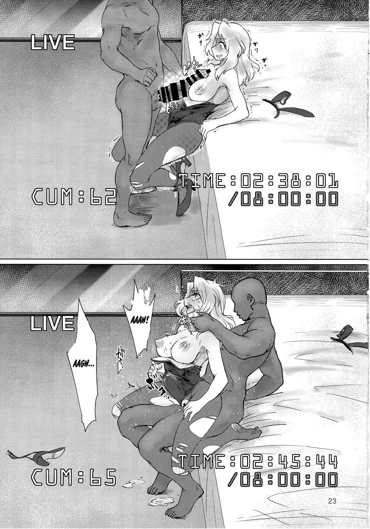 (C93) [Yakitate Jamaica (Aomushi)] Renzoku Taikyuu 8-jikan: Okay-san ga 8-jikan Buttooshi de Taikyuu Ecchi Suru Hon   8 Hours Non-Stop Endurance: Kay Endures 8 Straight Hours of Non-Stop Sex (Girls und Panzer) [English] =7BA= 22